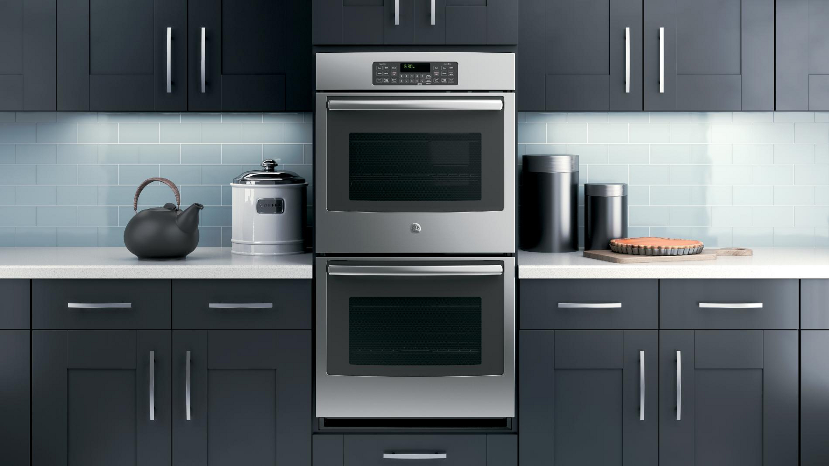 "GE 27"" Electric Double Wall Oven - Stainless Steel"