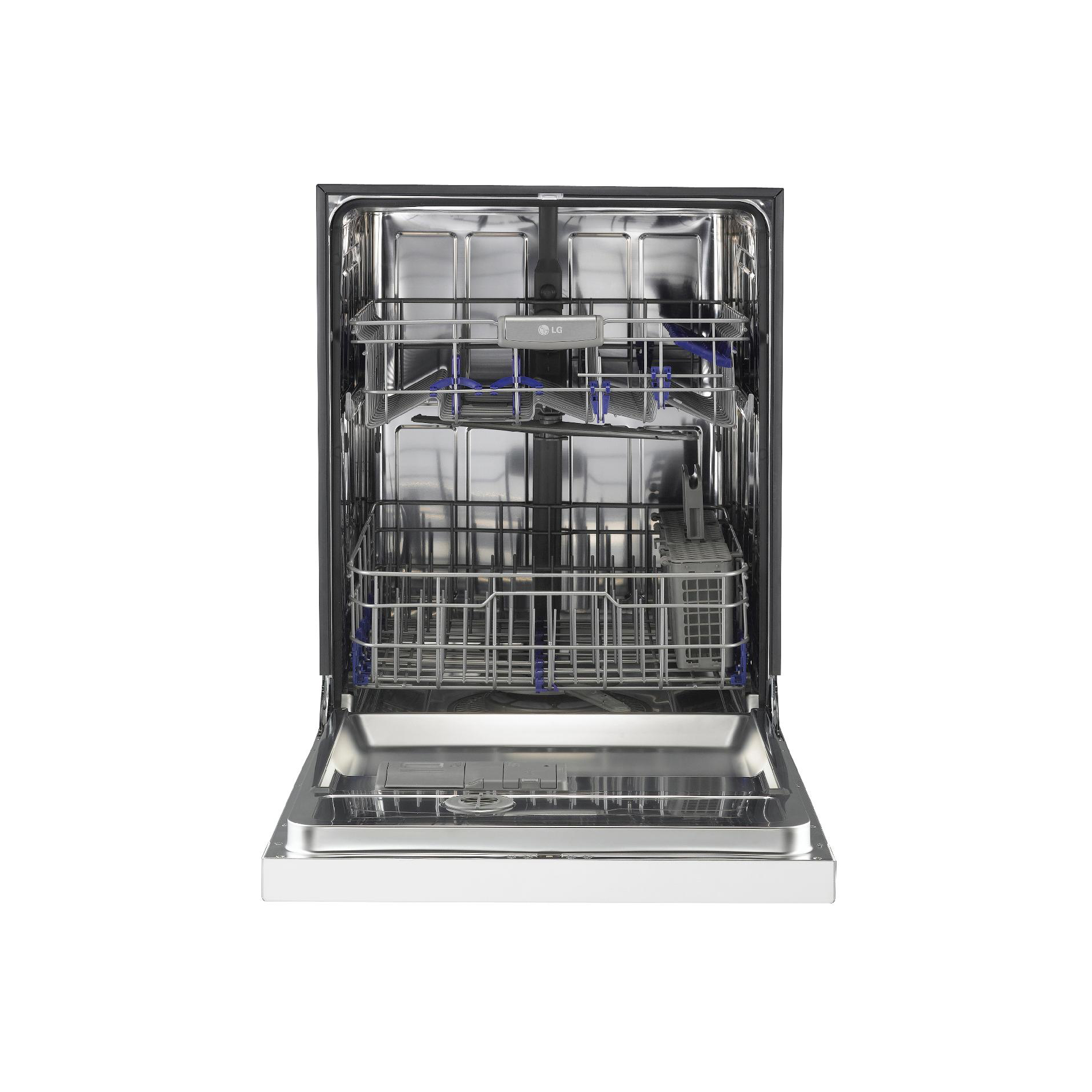 "LG LDS5540WW 24"" Built-In Dishwasher w/ EasyRack™ Plus System - White"