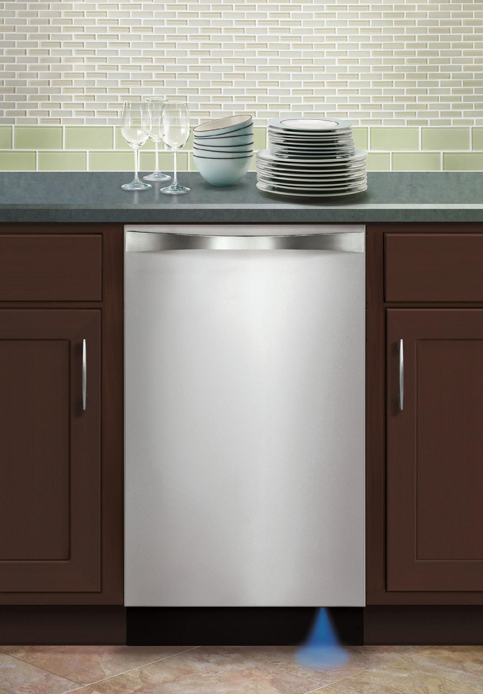 "Kenmore Elite 14683 18"" Built-In Dishwasher - Stainless Steel"