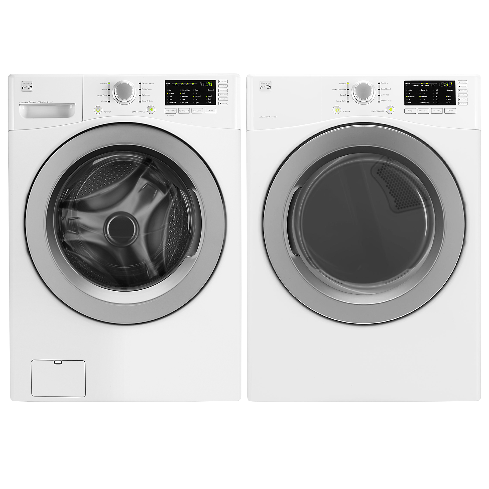 4.3 cu. ft. Front-Load Washer and 7.3 cu. ft. Dryer w/ Sensor Dry