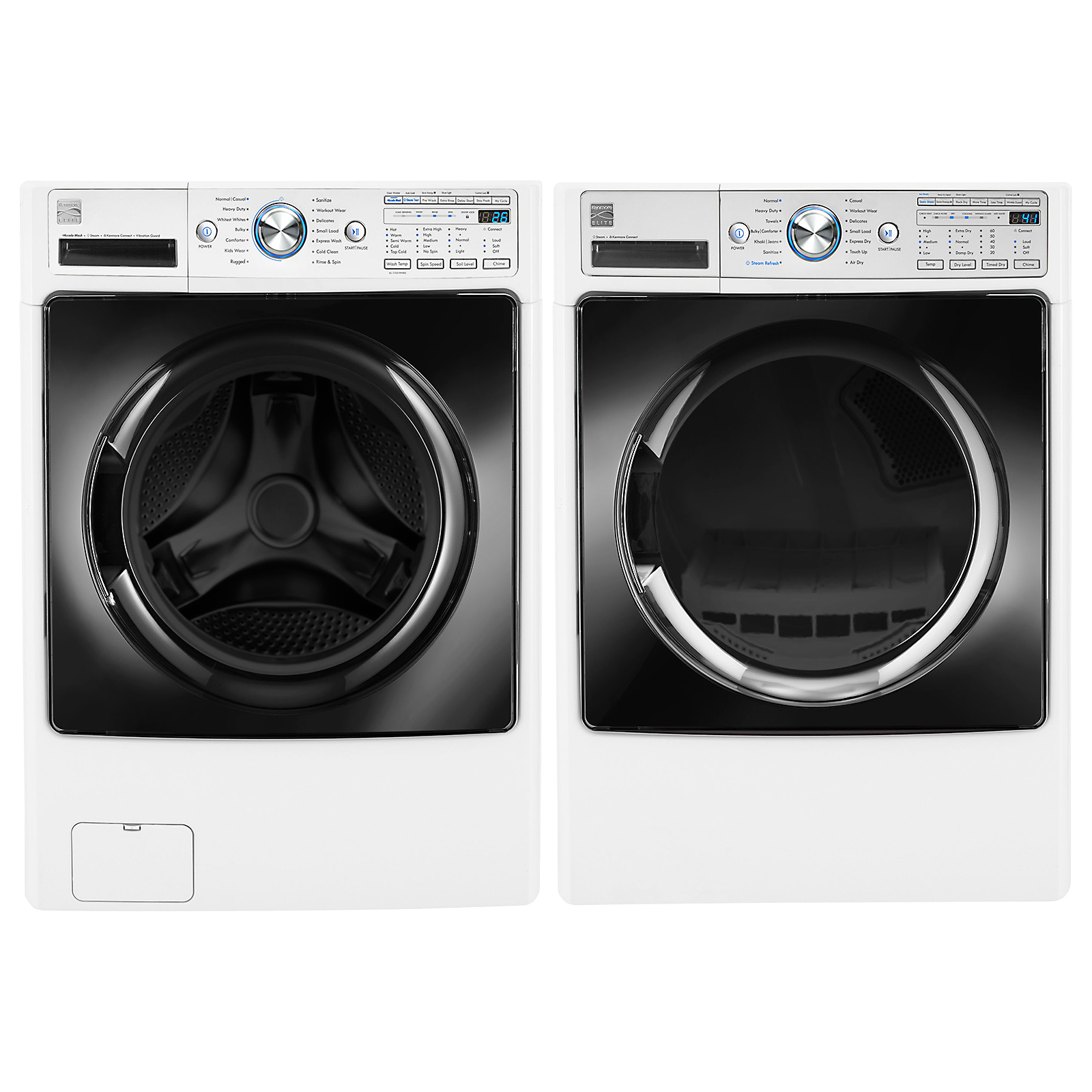 4.5 cu. ft. Front-Load Washer w/Steam & and 7.4 cu. ft. Front-Load Dryer