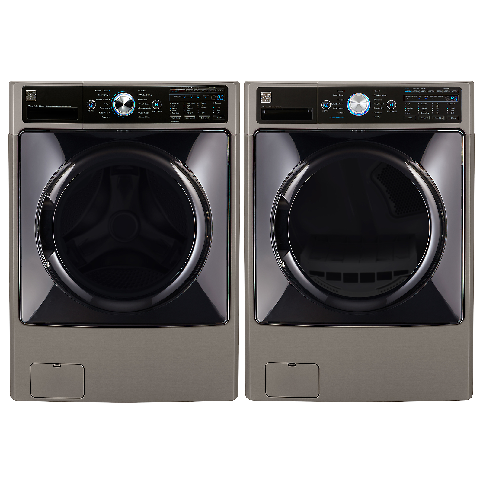 4.5 cu. ft. Front-Load Washer & 7.4 cu. ft. Dryer w/ Steam