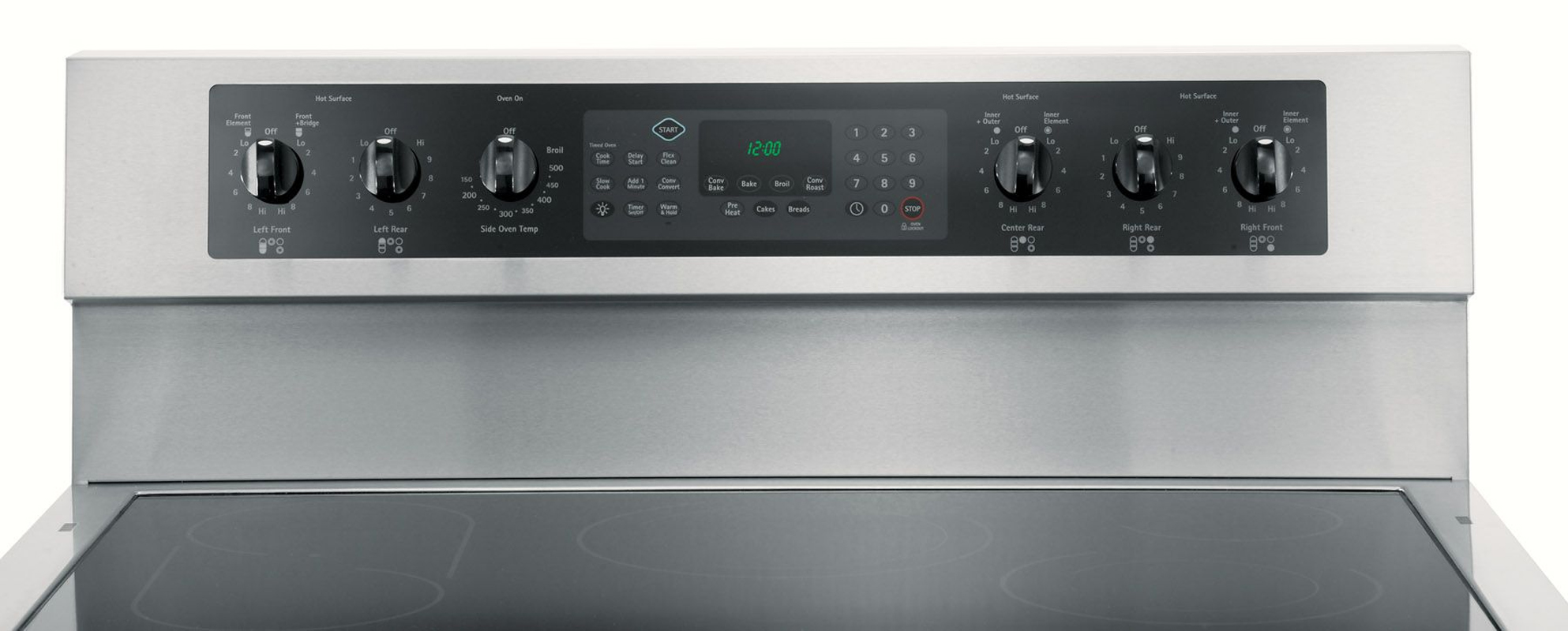 Kenmore Elite 5.4 cu. ft. Double-Oven Electric Range - Stainless Steel