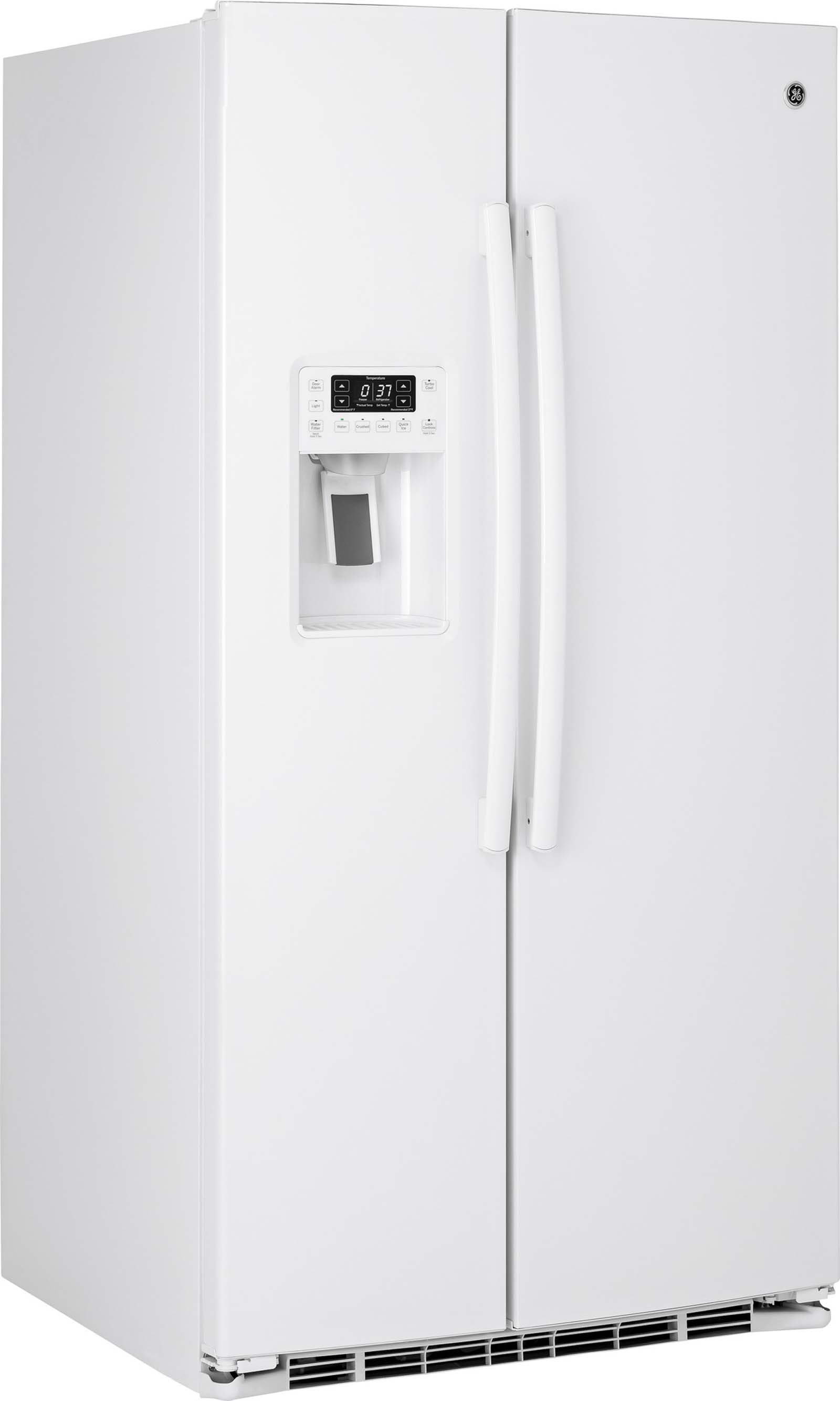 GE Profile 25 cu. ft. Side-by-Side Refrigerator - White