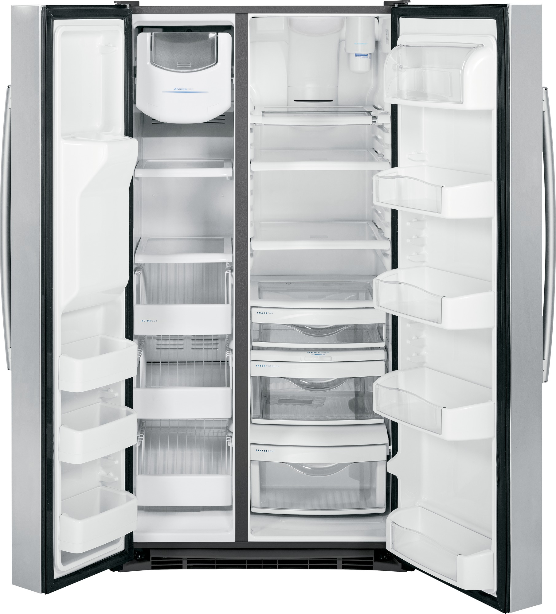 GE Profile PSS28KSHSS 28 cu. ft. Side-by-Side Refrigerator - Stainless Steel