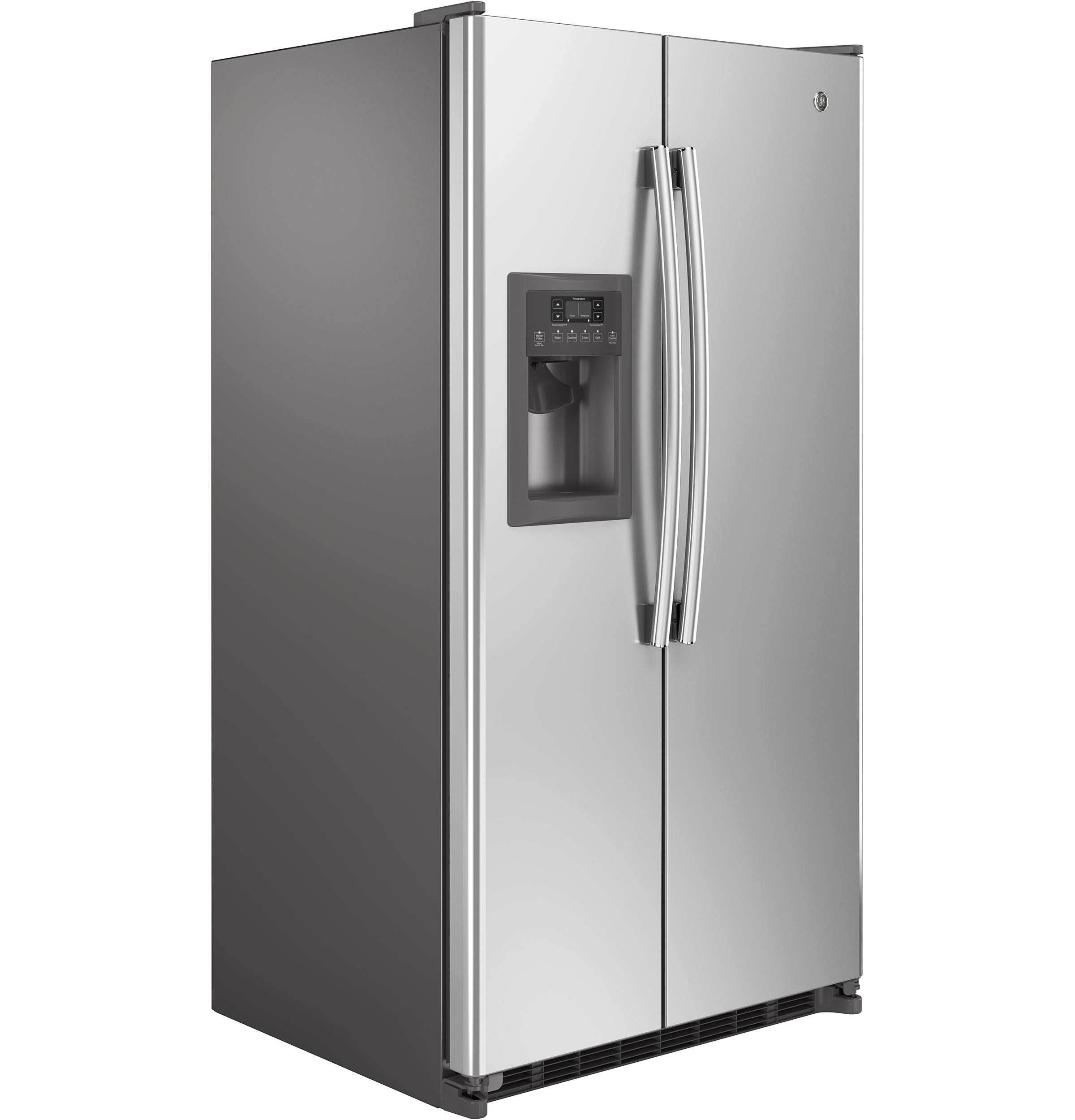 GE Appliances GSE25ESHSS 24.7 cu. ft. Side-by-Side Refrigerator - Stainless Steel