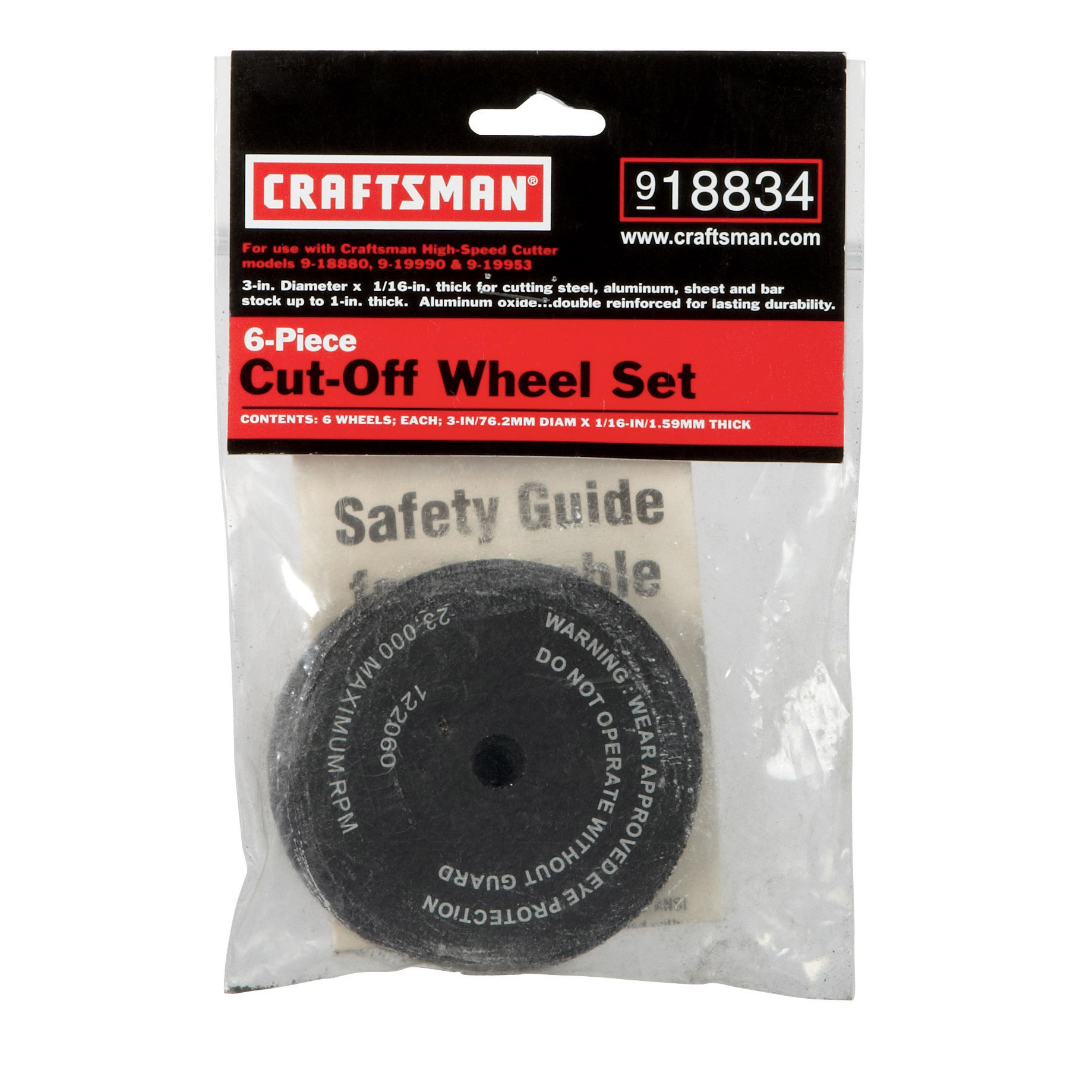 Craftsman Cut-Off Wheel for Model 1888