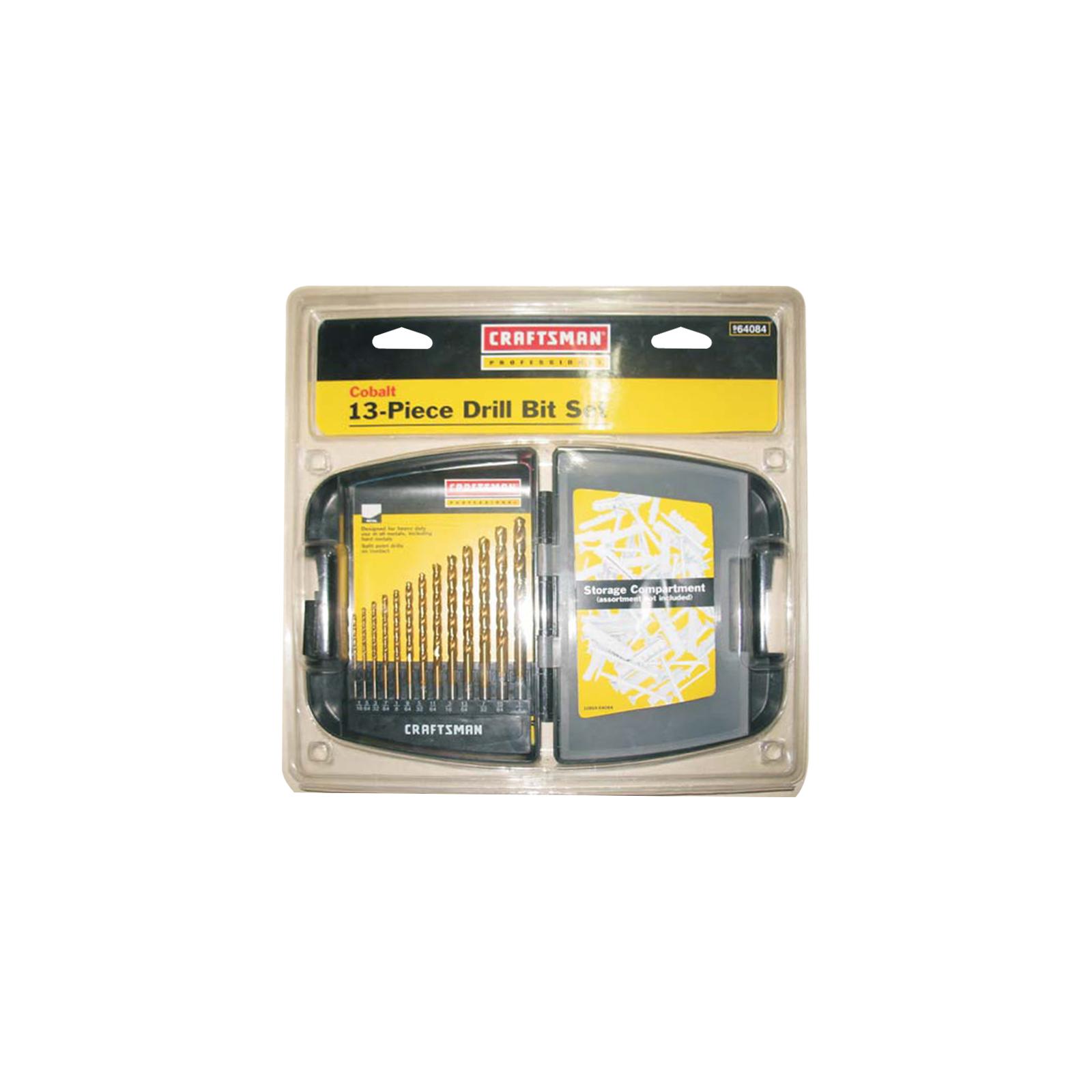 Craftsman Professional 13 pc. Cobalt Drill Bit Set