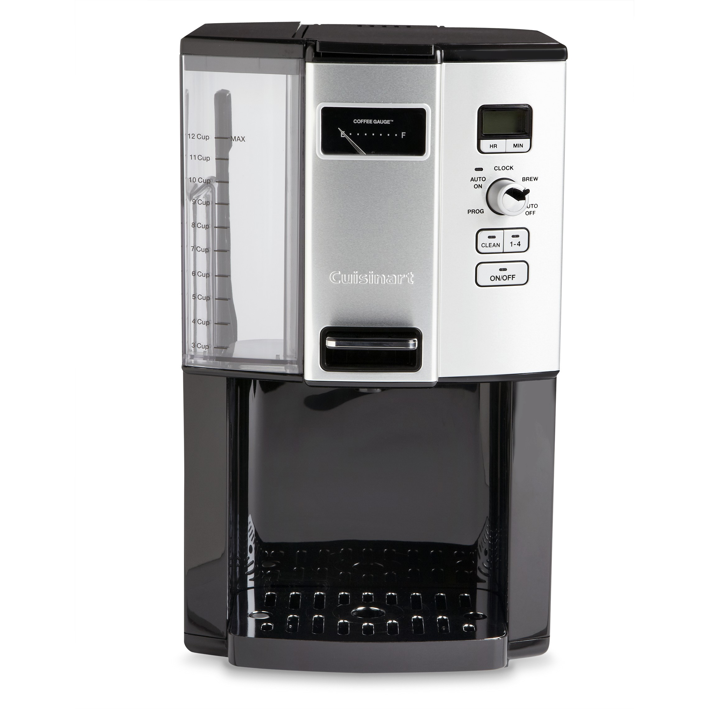 Cuisinart 12-Cup Coffee On Demand Coffee Maker Black Stainless