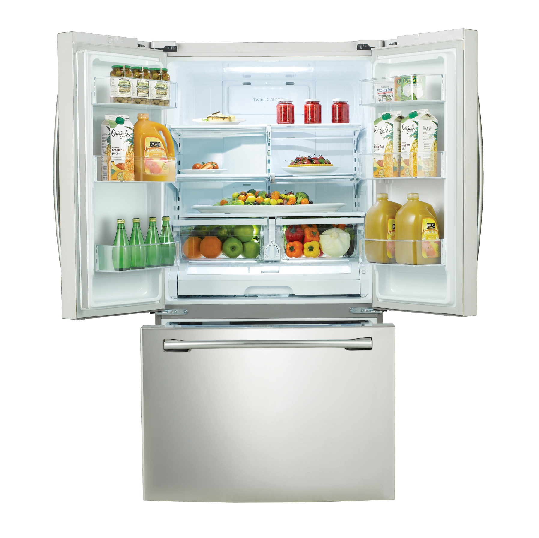 Samsung 26 cu.ft. French Door Refrigerator w/  Filtered Water Dispenser - White