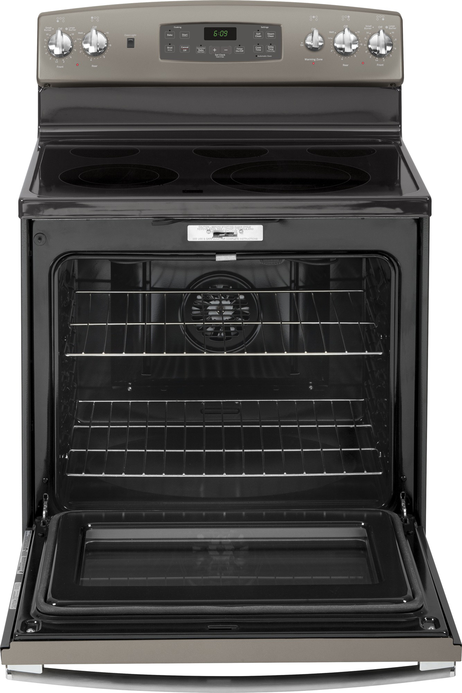 GE Appliances 5.3 cu. ft. Electric Range w/ Convection Oven - Slate