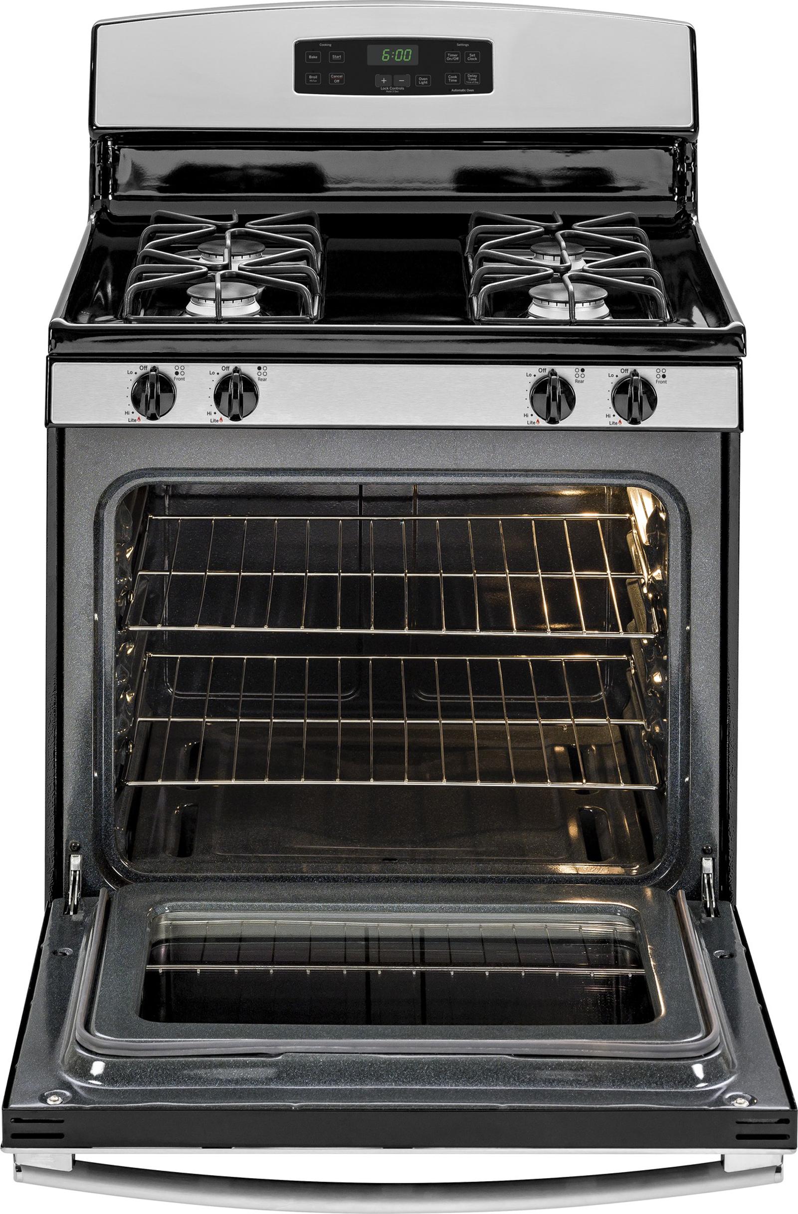 GE Appliances JGBS60REFSS 4.8 cu. ft. Gas Range - Stainless Steel