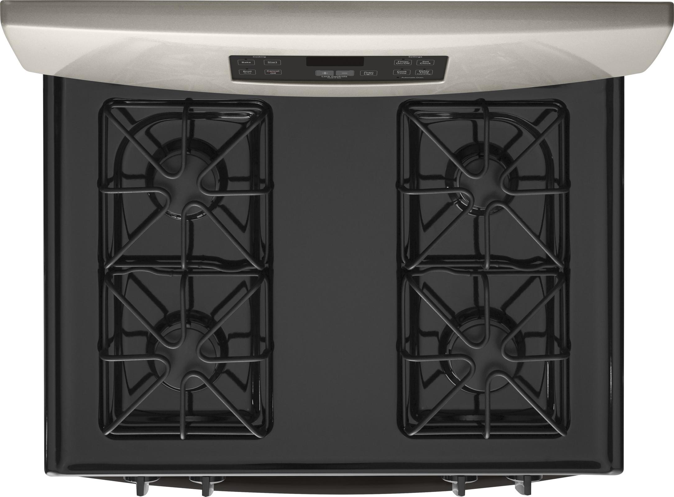 GE Appliances JGBS60GEFSA 4.8 cu. ft. Gas Range - SIlver