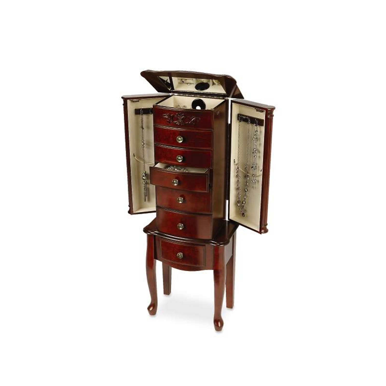 Hives & Honey Morgan Scroll Jewelry Armoire