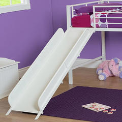 Essential Home Slumber N Slide Loft Twin Bed With Slide