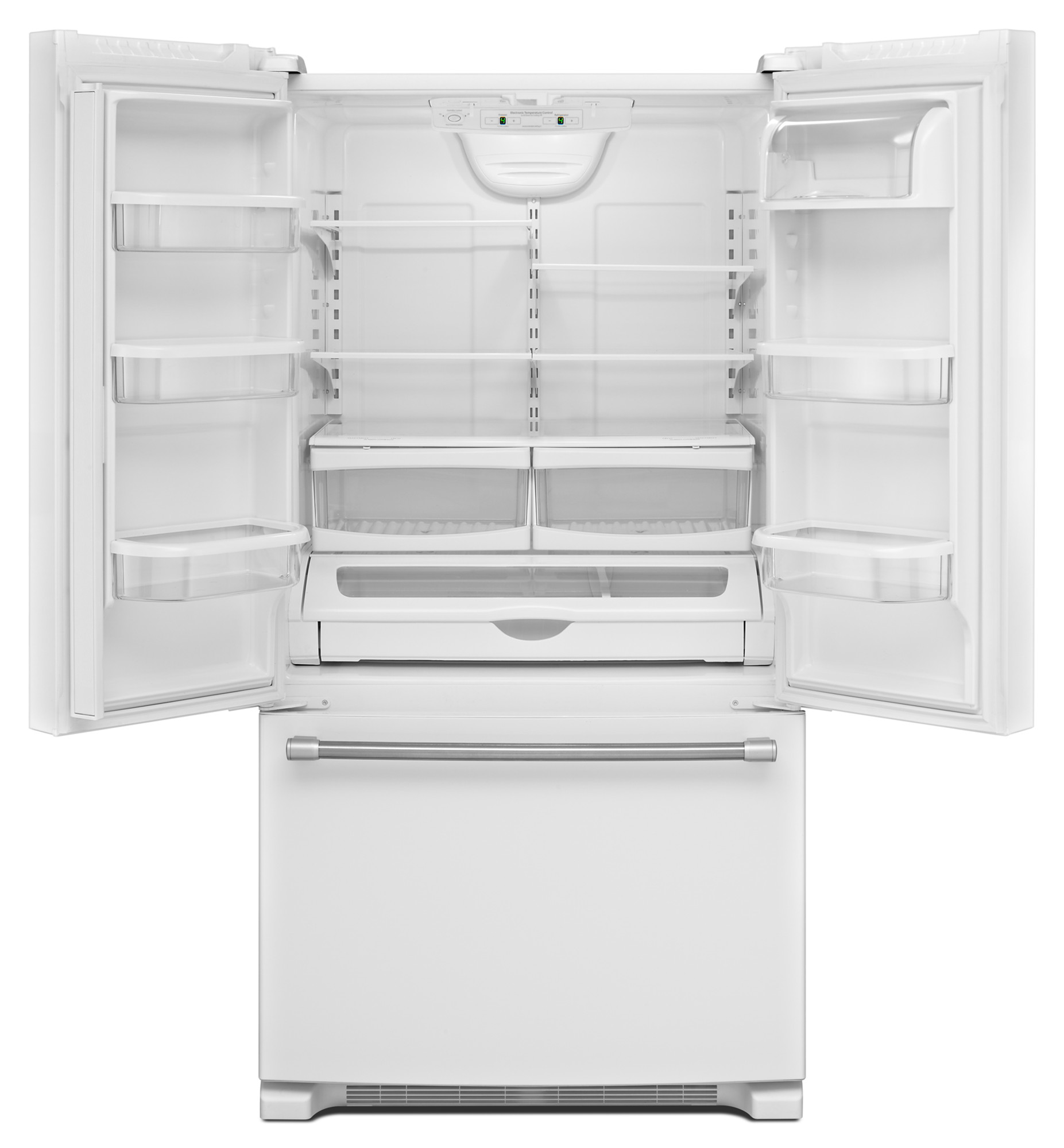 Maytag MFF2258DEH 22 cu. ft. French Door Refrigerator w/ Strongbox™ Hinges - White