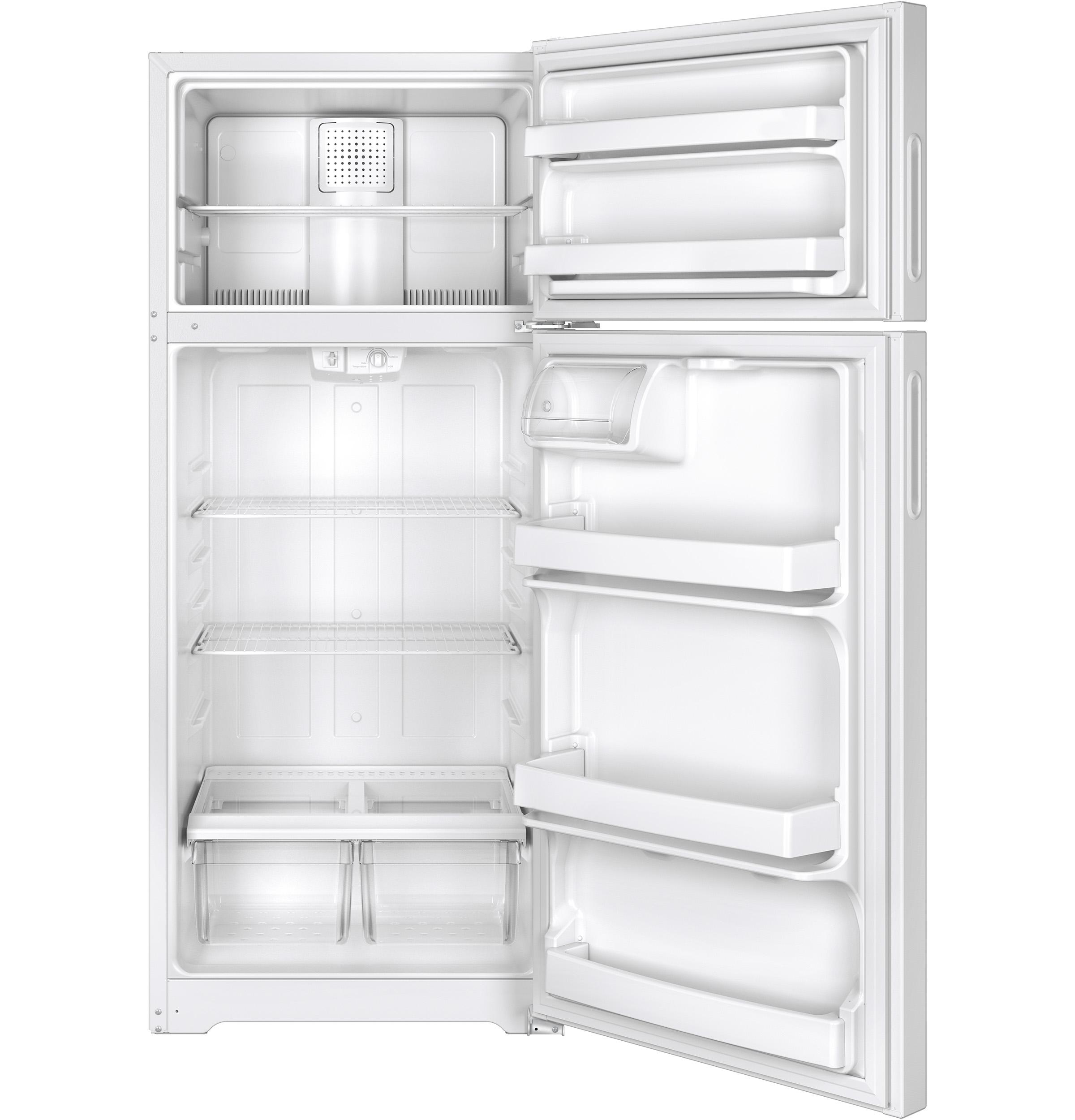 Hotpoint HPS18BTHWW 17.6 cu. ft. Top-Freezer Refrigerator - White