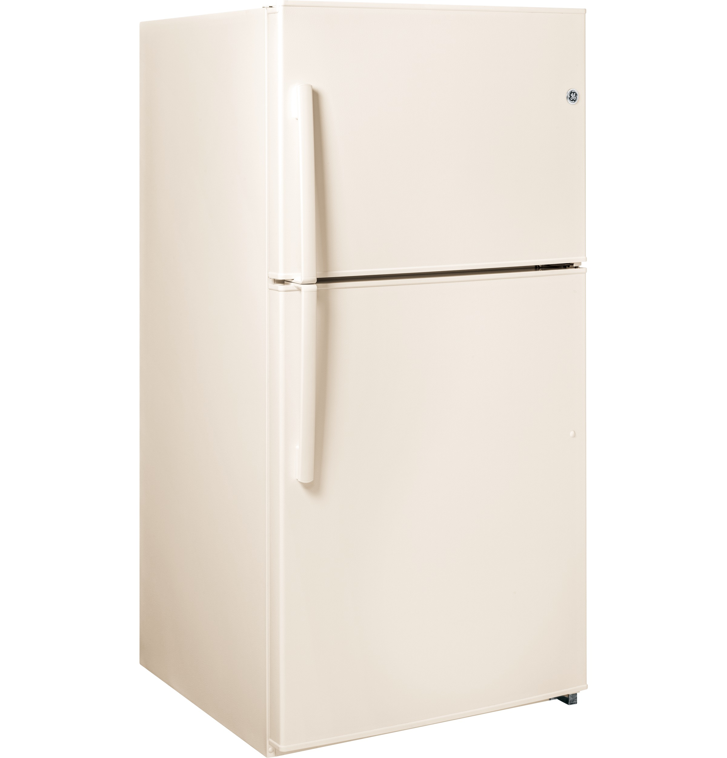 GE Appliances 21.2 cu. ft. Top-Freezer Refrigerator - Bisque