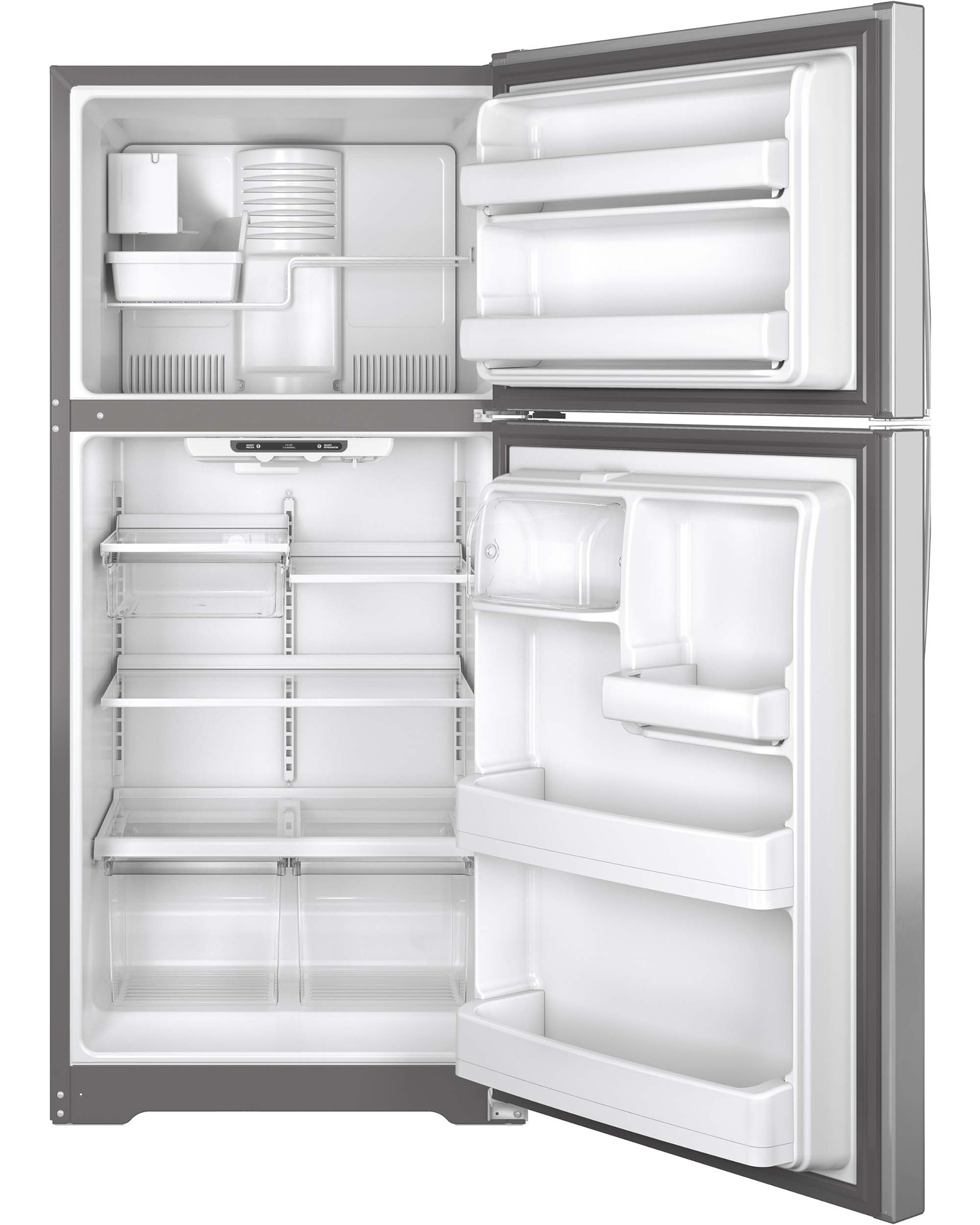 GE Appliances GIE18ISHSS 18.2 cu. ft. Top-Freezer Refrigerator - Stainless Steel