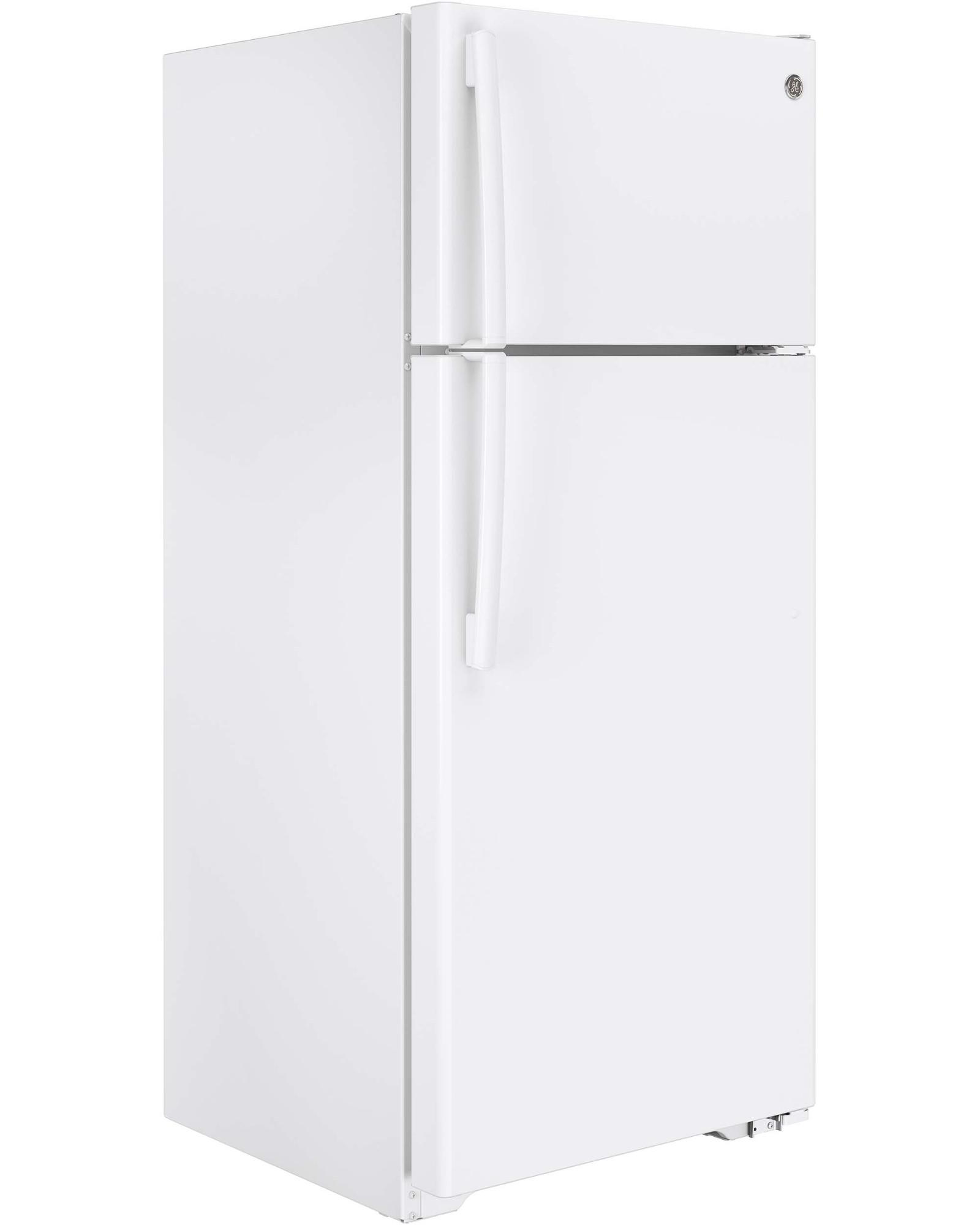 GE Appliances GTE18CTHWW 17.5 cu. ft. Top-Freezer Refrigerator - White