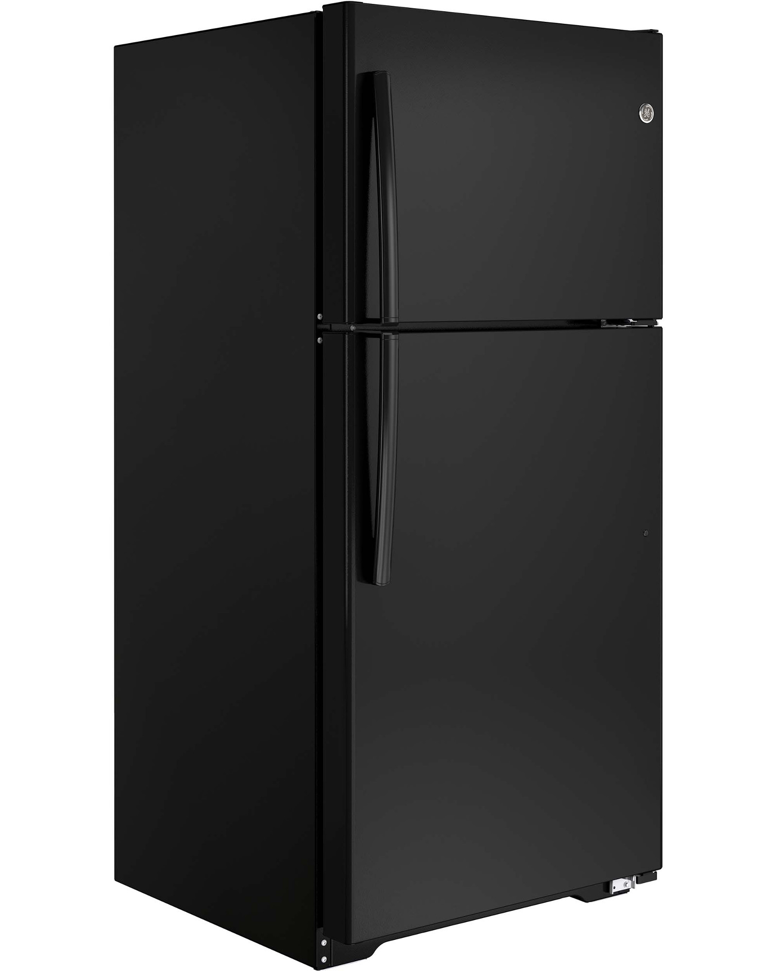 GE Appliances GTE18ETHBB 18.2 cu. ft. Top-Freezer Refrigerator - Black