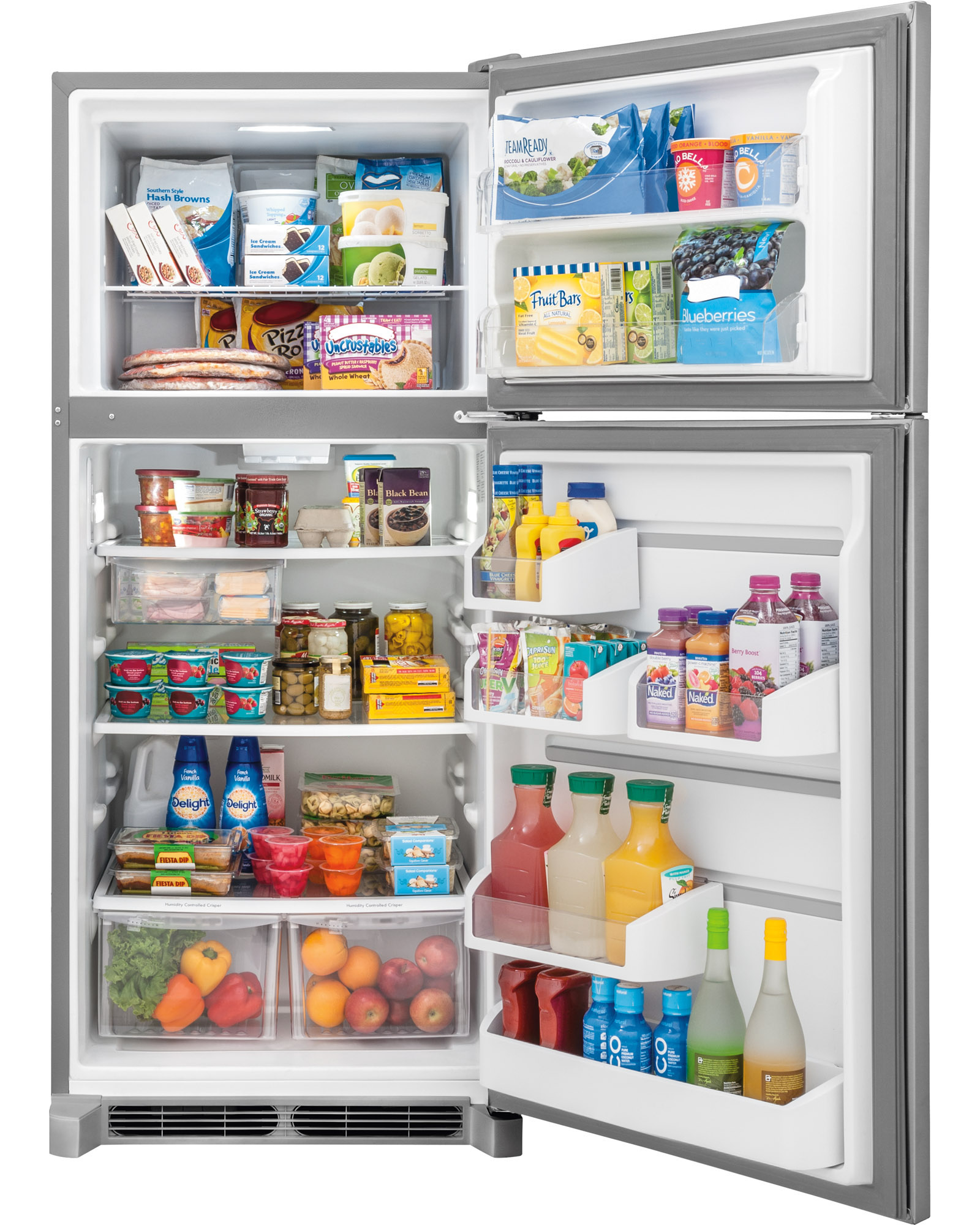 Frigidaire FGTR2045QF 20.4 cu. ft. Top Mount Refrigerator - Stainless Steel