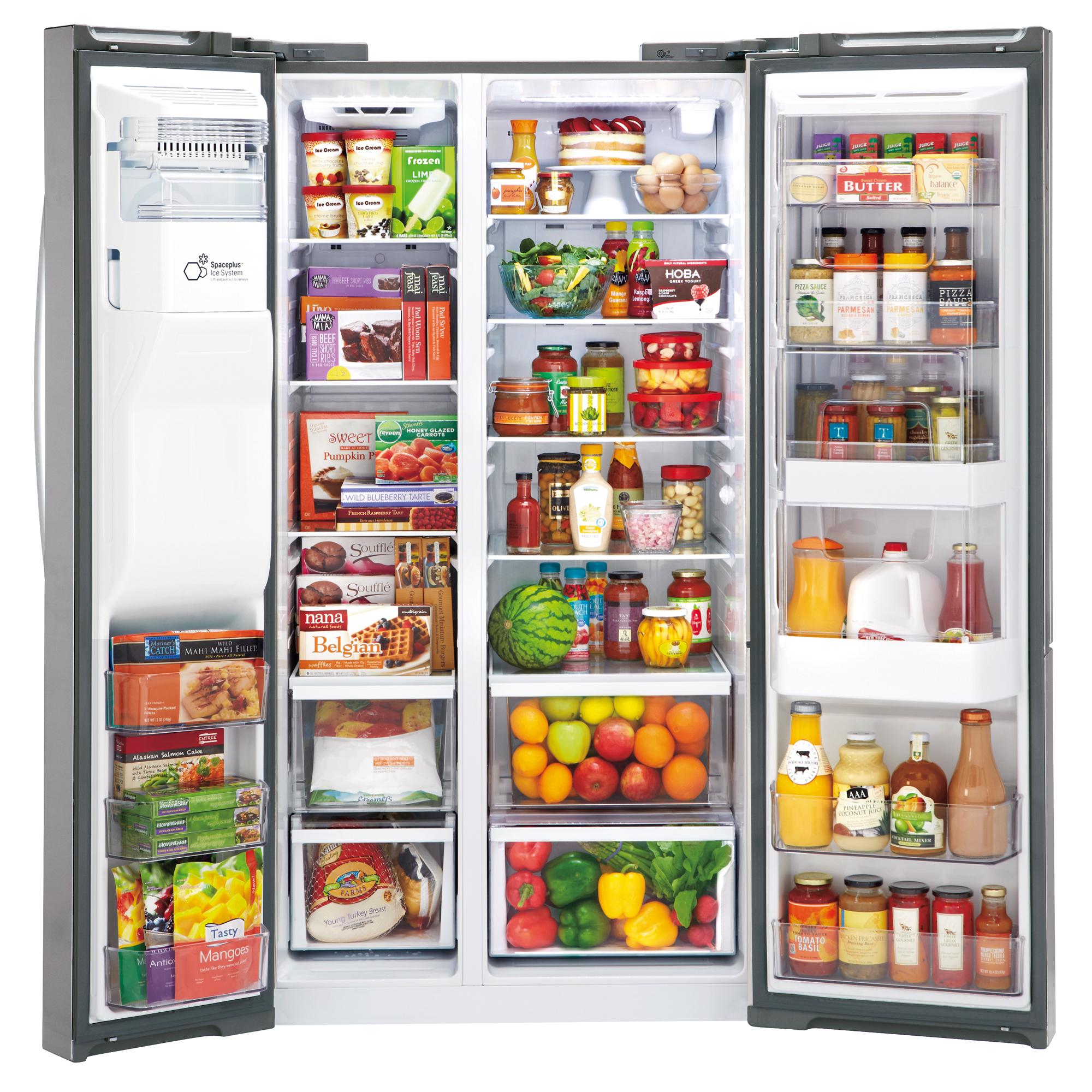 LG LSXS26366S 26.1 cu.ft. Ultra Large Capacity Side-by-Side Refrigerator w/Door-in-Door®