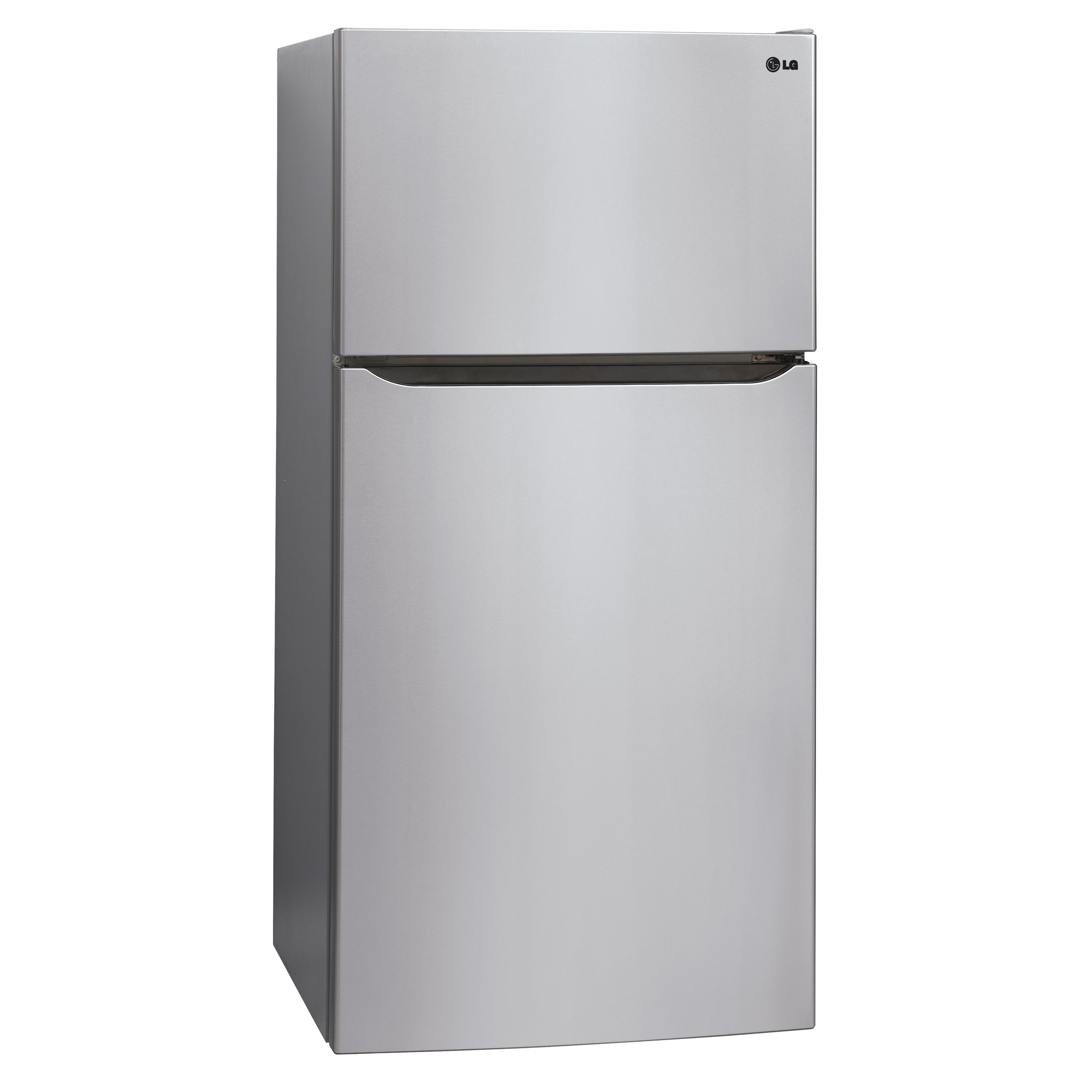 """LG LTCS20220S 20.2 cu. ft. Top Freezer Refrigerator w/ Ice Maker (30"""" Wide) – Stainless"""