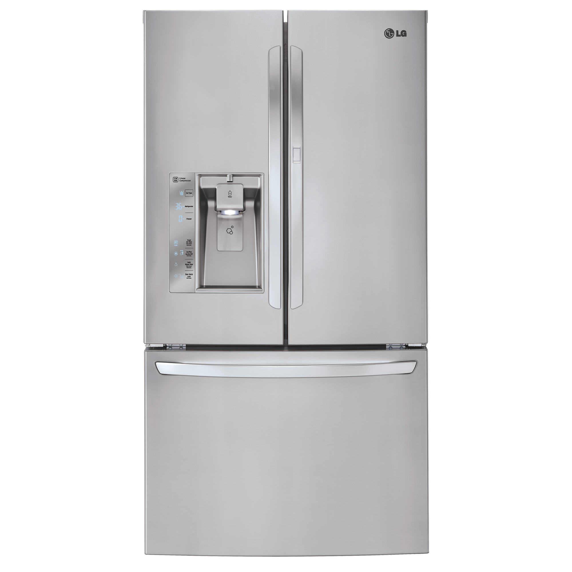 LG LFXS32766S 31.5 cu.ft. Mega-Capacity Door-in-Door™ French Door Refrigerator – Stainless