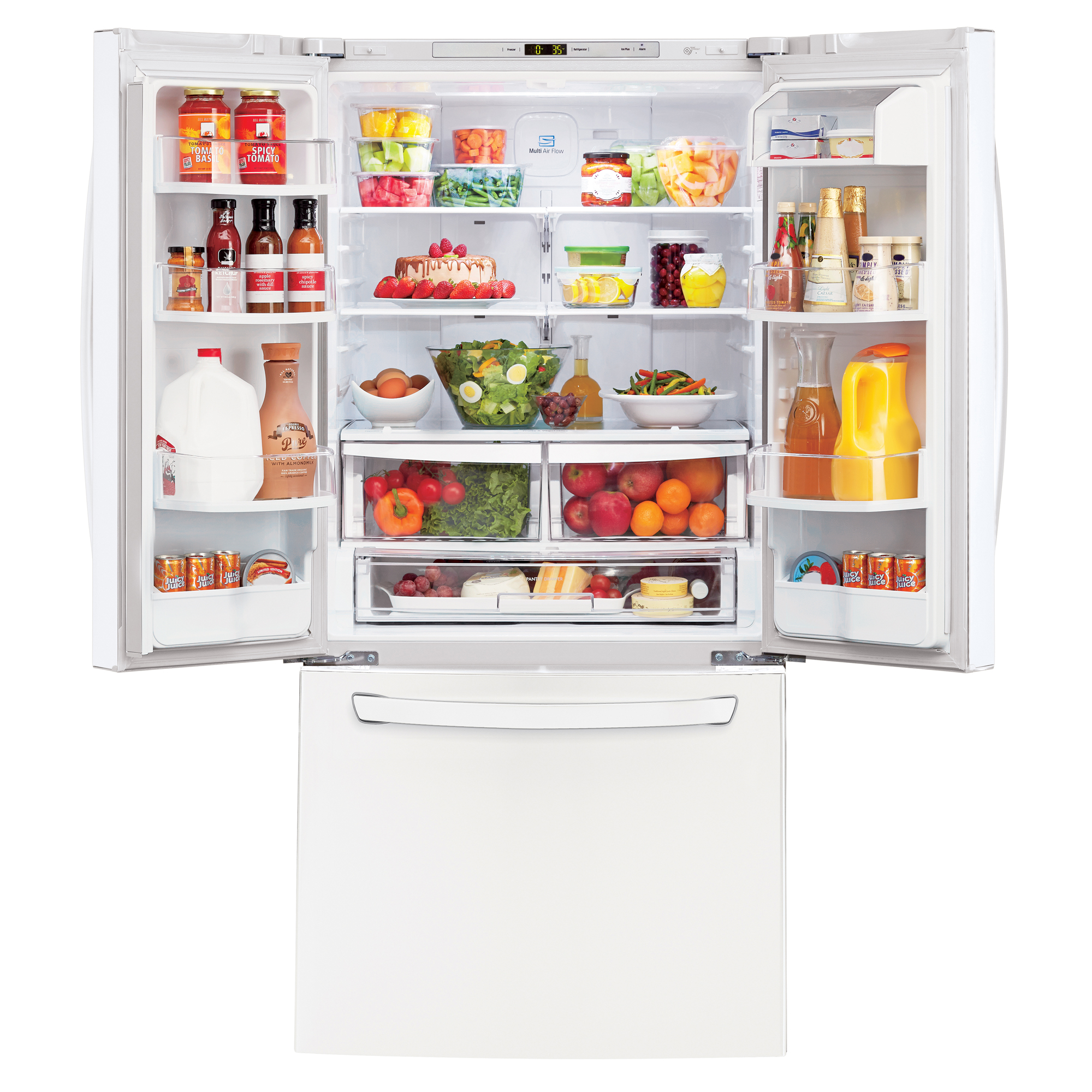 LG LFC22770SW 21.8 cu. ft. French Door Bottom-Freezer Refrigerator