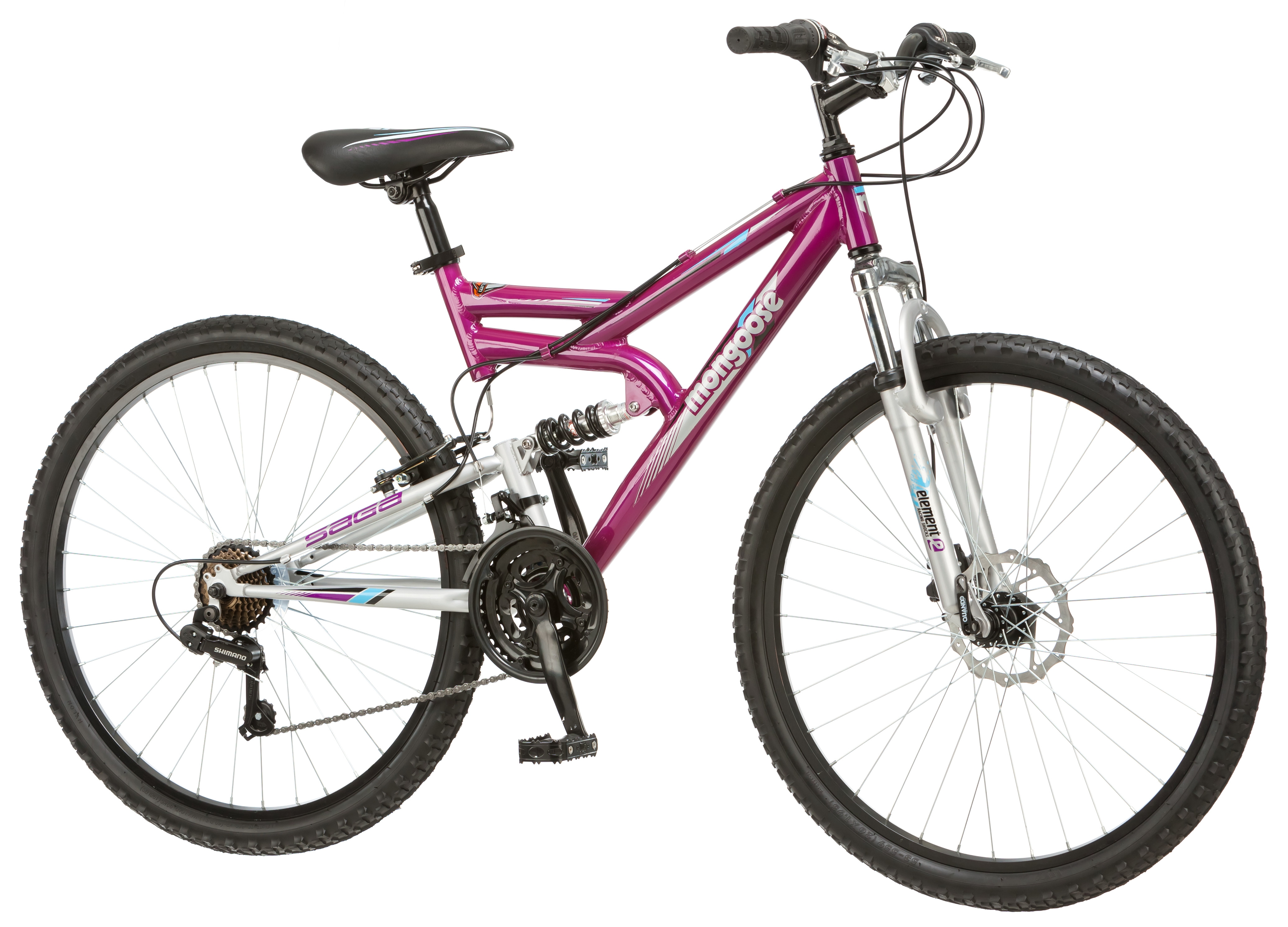 "Mongoose Saga 26"" Womens Mountain Bike"