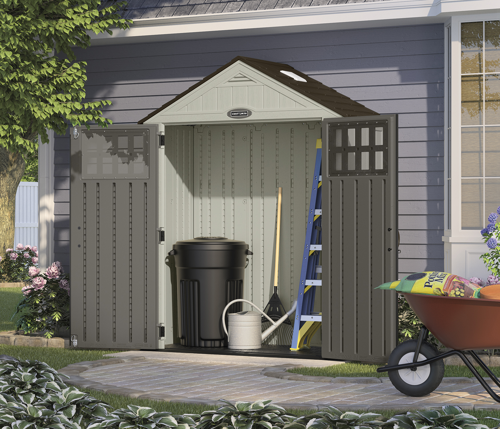 Craftsman 6' x 3' Shed
