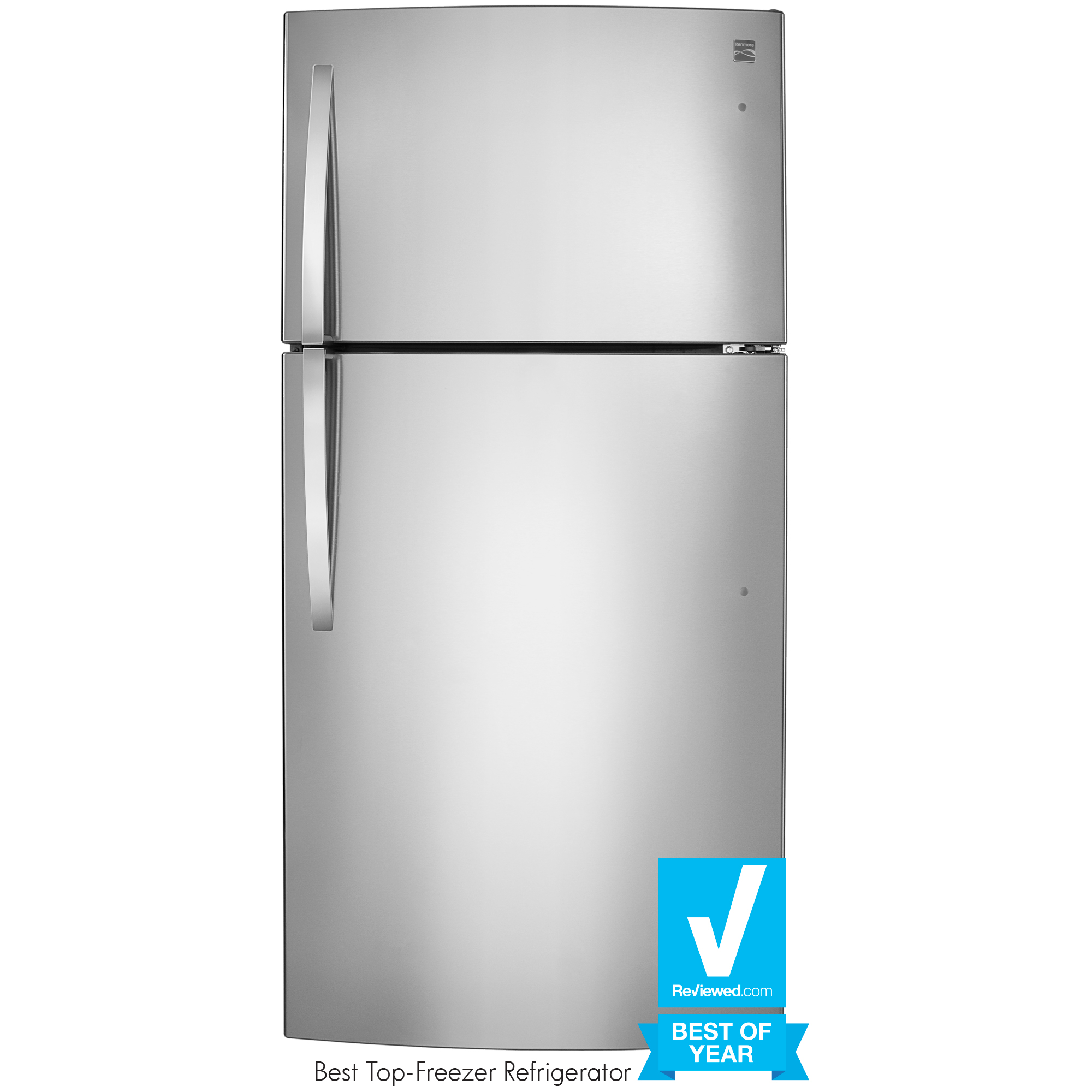 Kenmore 79433 23.8 cu. ft. Top-Freezer Refrigerator - Stainless Steel