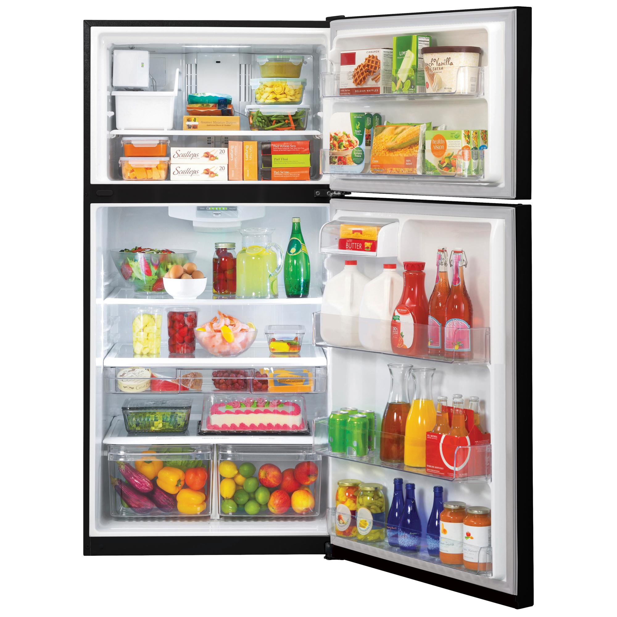 "LG LTCS24223B 23.8 cu. ft. 33"" Wide Top Freezer Refrigerator w/ Ice Maker"