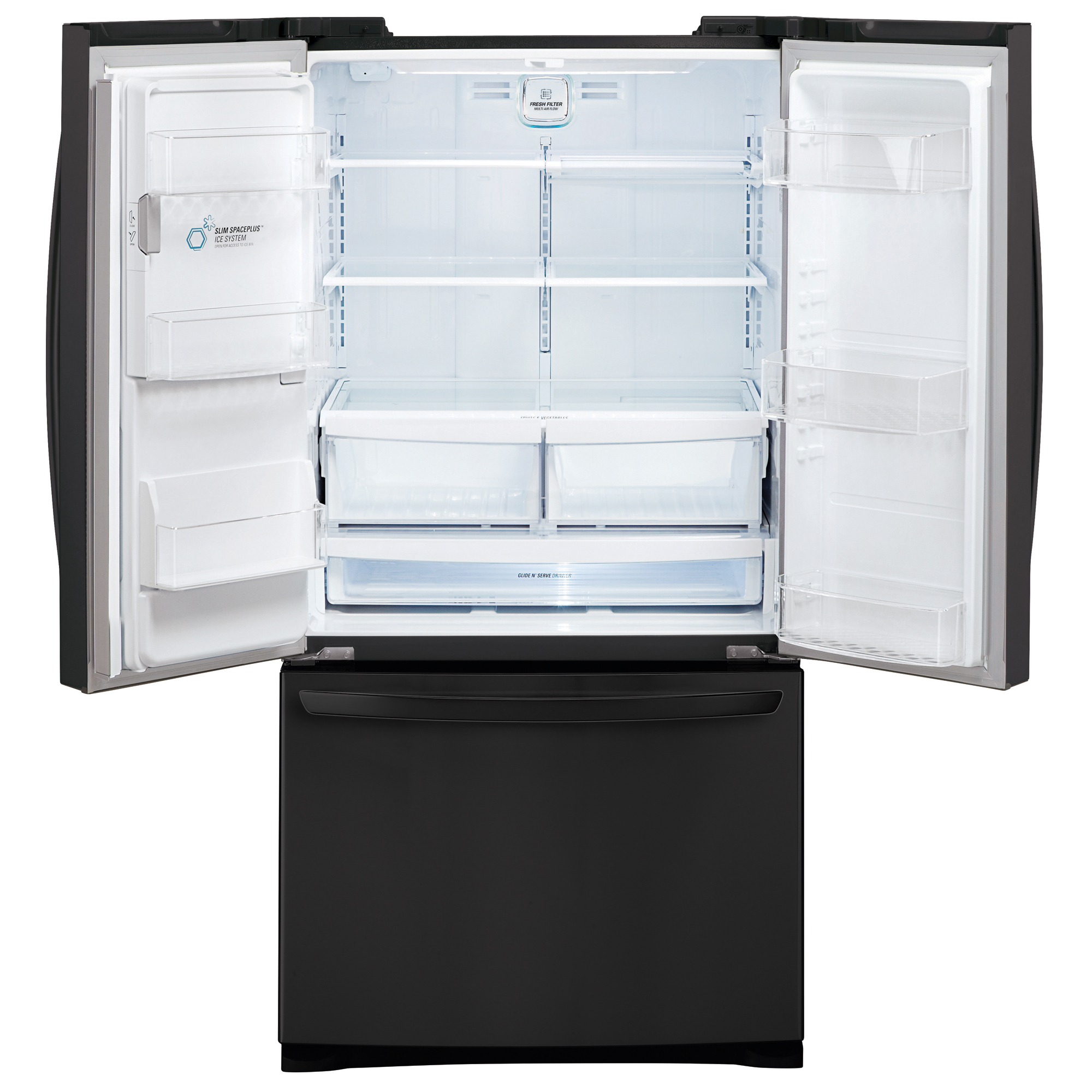 LG LFX28968SB 26.8 Cu. Ft. French Door Bottom-Freezer Refrigerator