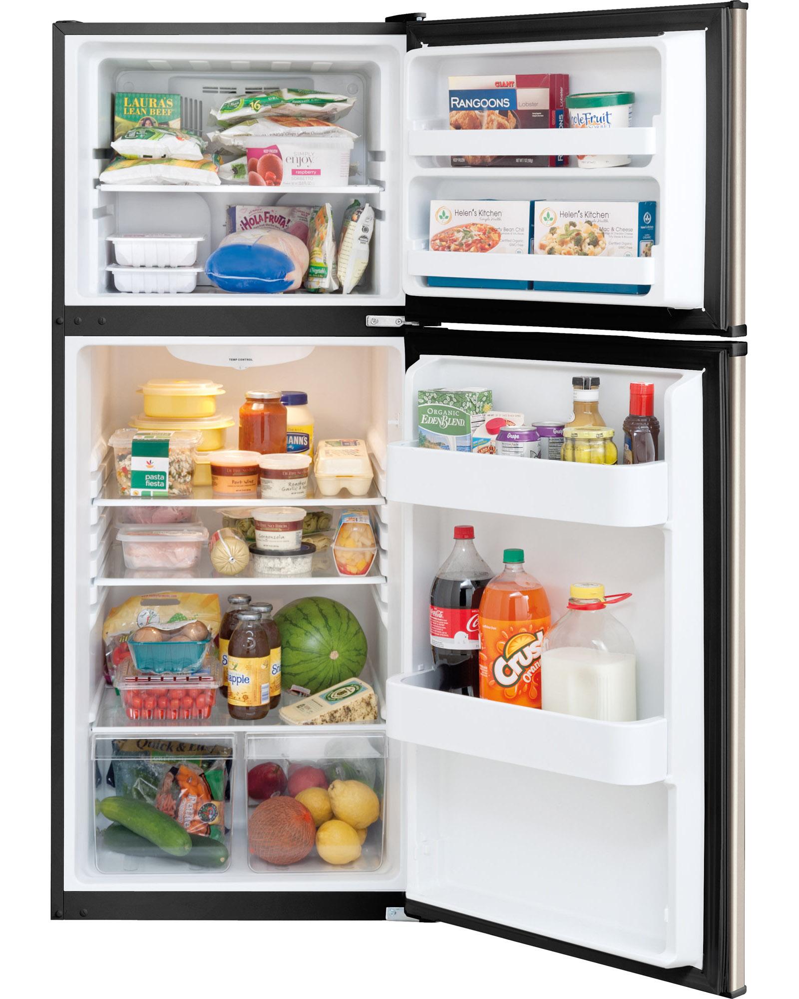 Frigidaire FFTR1022QM 10 cu. ft. Top Freezer Refrigerator - Silver Mist