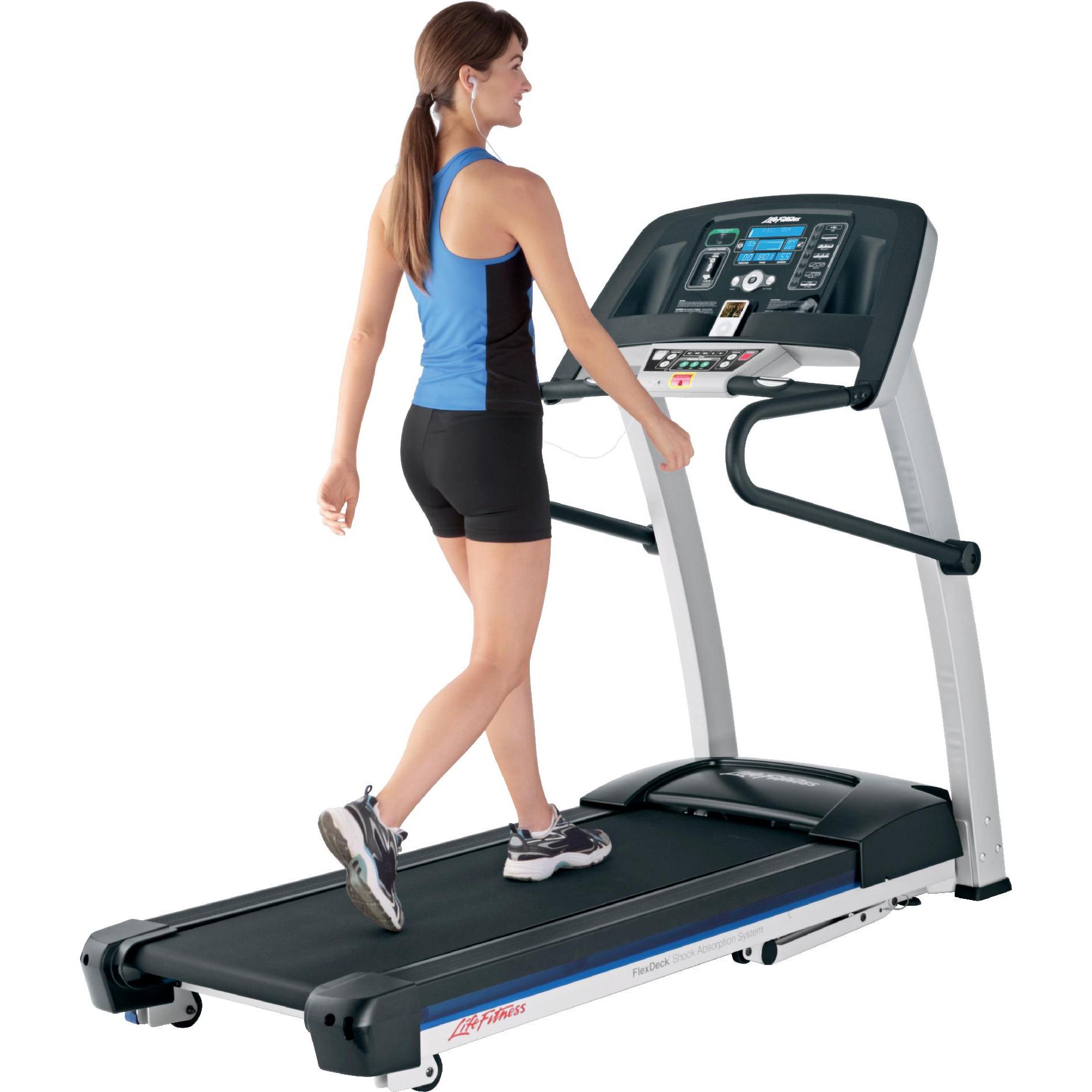 Life Fitness F1 Smart Folding Treadmill