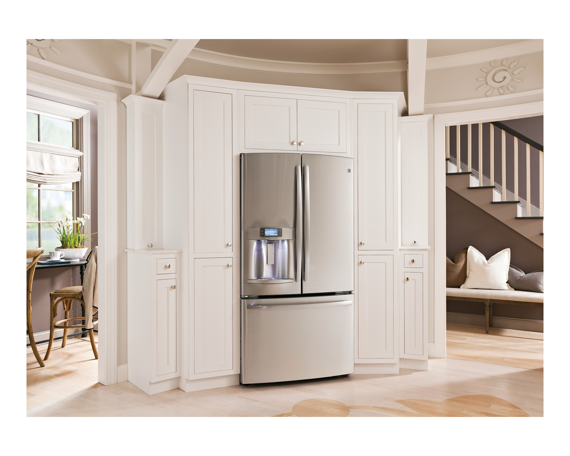 GE Profile PFH28PSHSS 28 cu. ft. French-Door Ice & Water Refrigerator - Stainless Steel