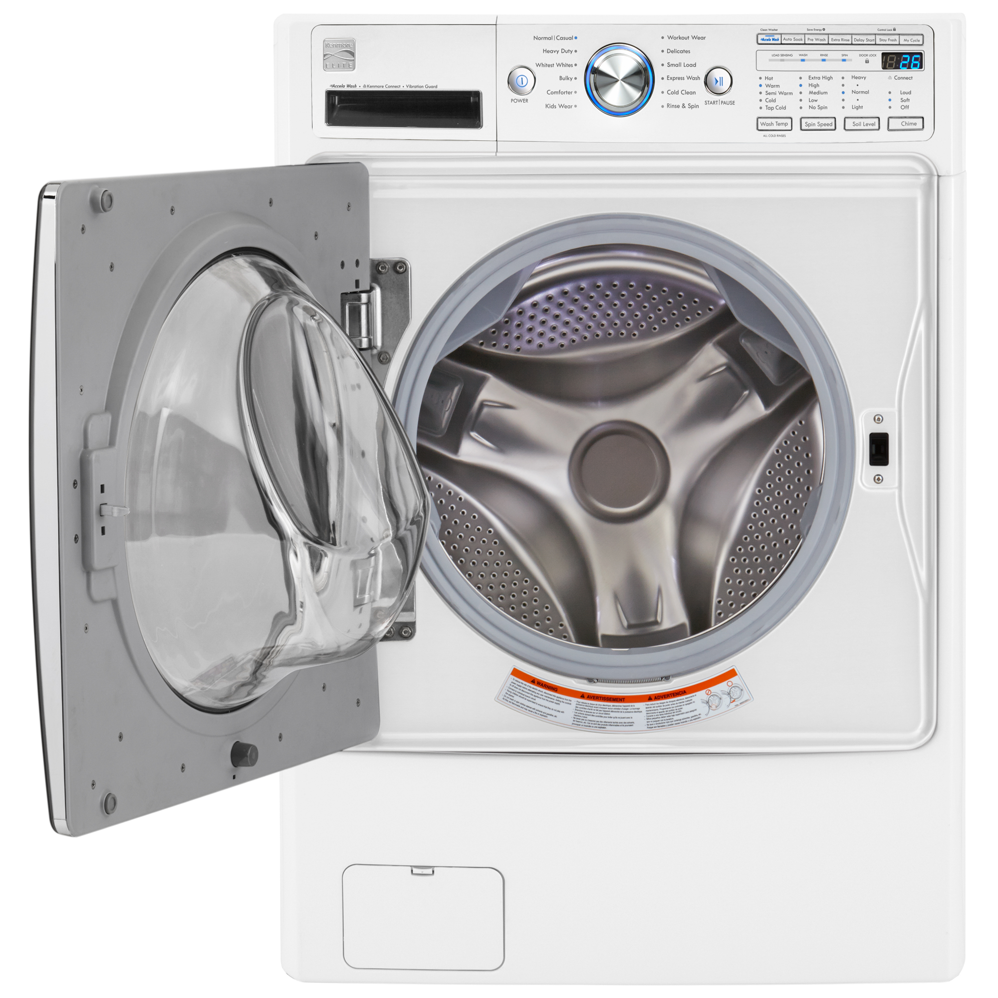 Kenmore Elite 41482 4.5 cu. ft. Front-Load Washer w/ Accela Wash