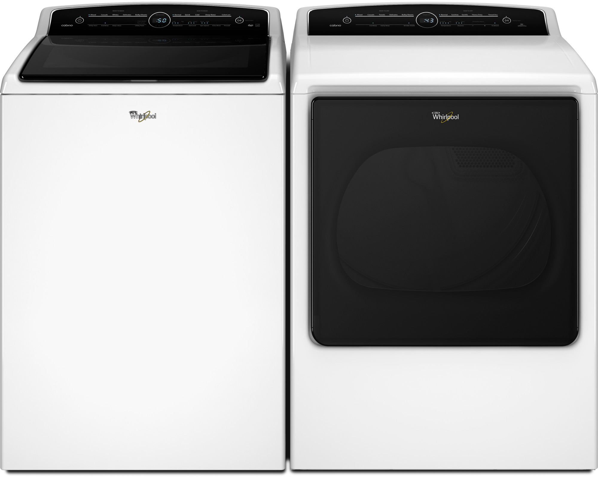 Whirlpool WED8000DW 8.8 cu. ft. Cabrio® Electric Dryer - White
