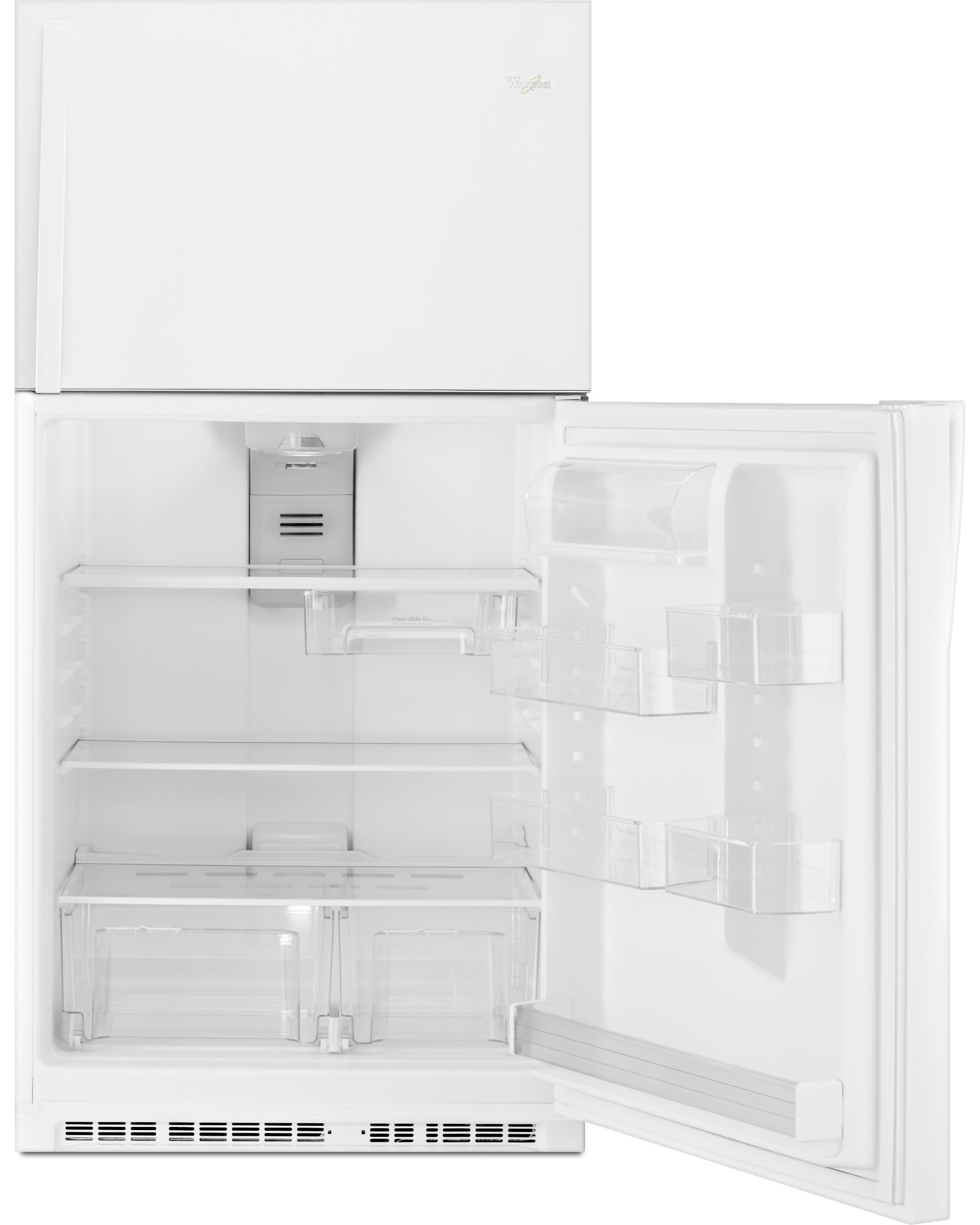 Whirlpool WRT541SZDW 21 cu. ft. Top Freezer Refrigerator - White