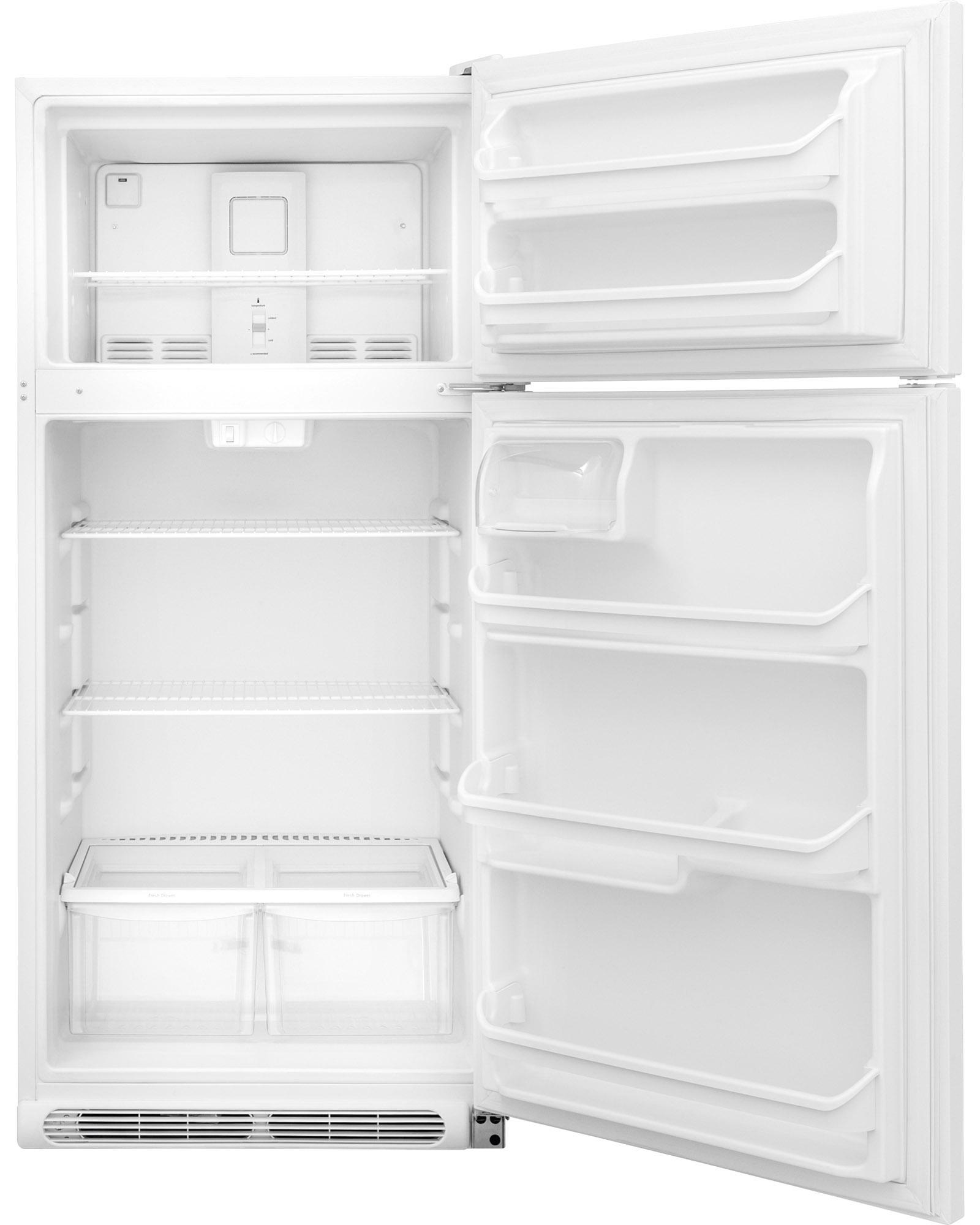 Frigidaire FFTR1814QW 18 cu. ft. Top Freezer Refrigerator - White