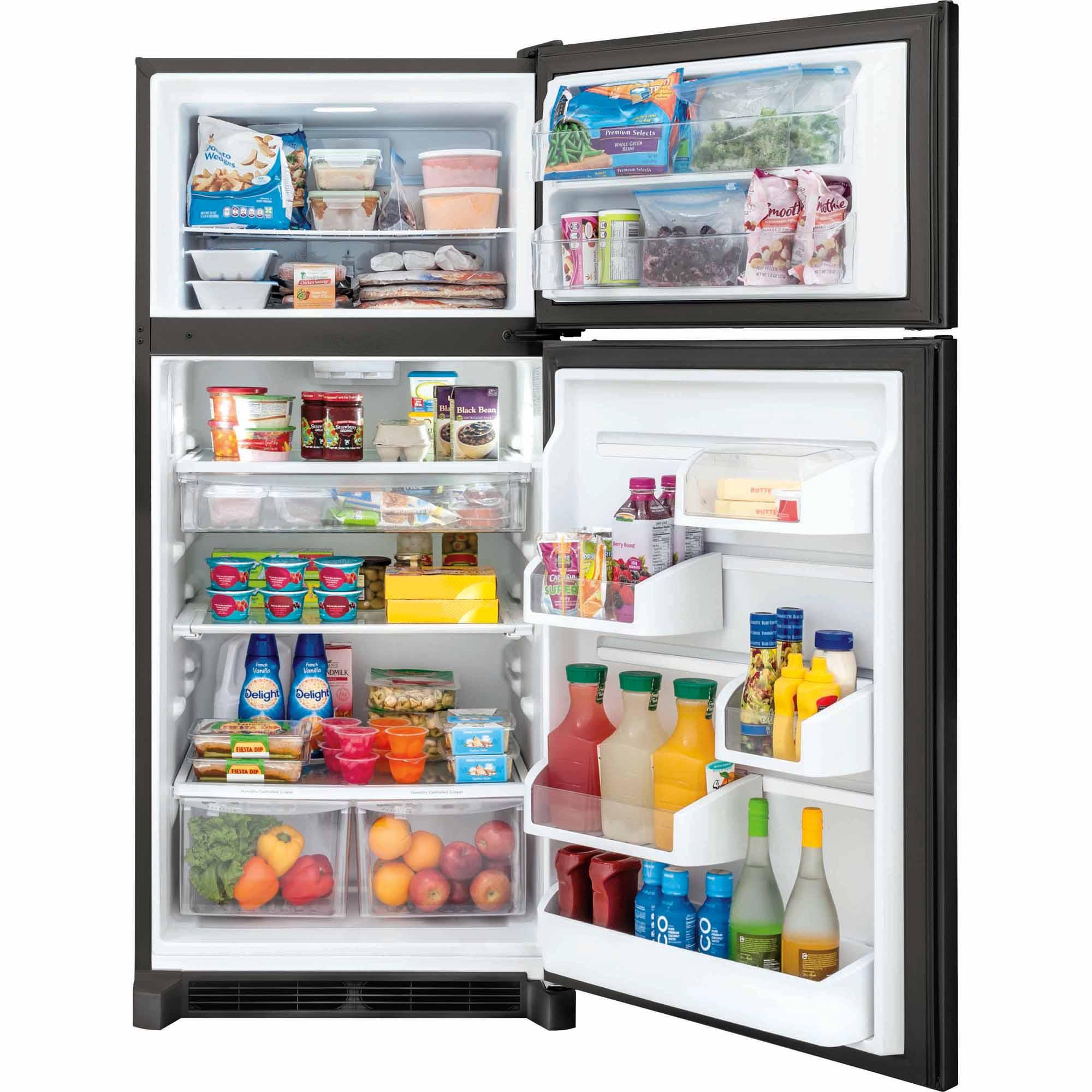 Frigidaire Gallery FGHT1846QE 18 cu. ft. Top Freezer Refrigerator - Black