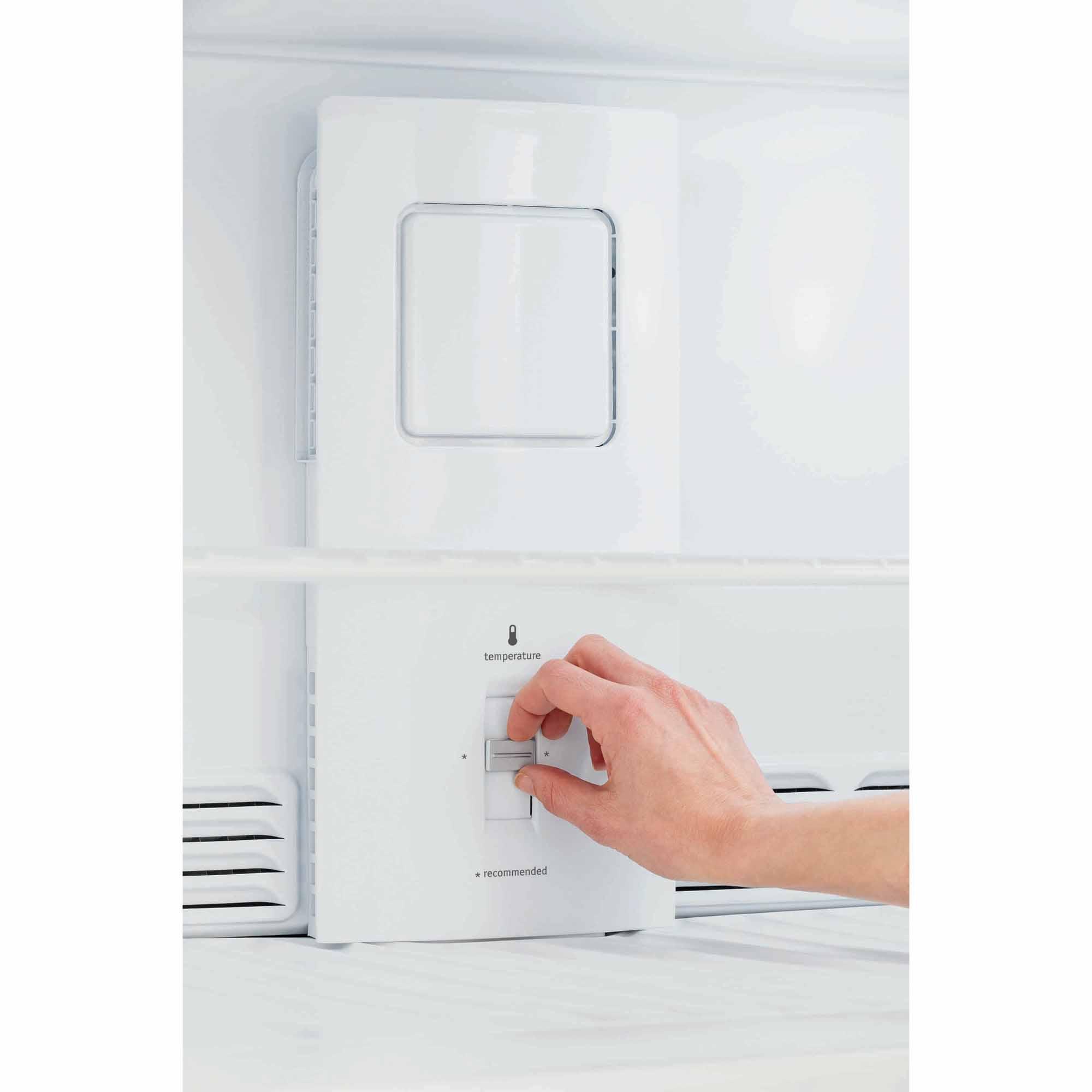 Frigidaire FFHT2021QB 20.4 cu. ft. Top Freezer Refrigerator - Black
