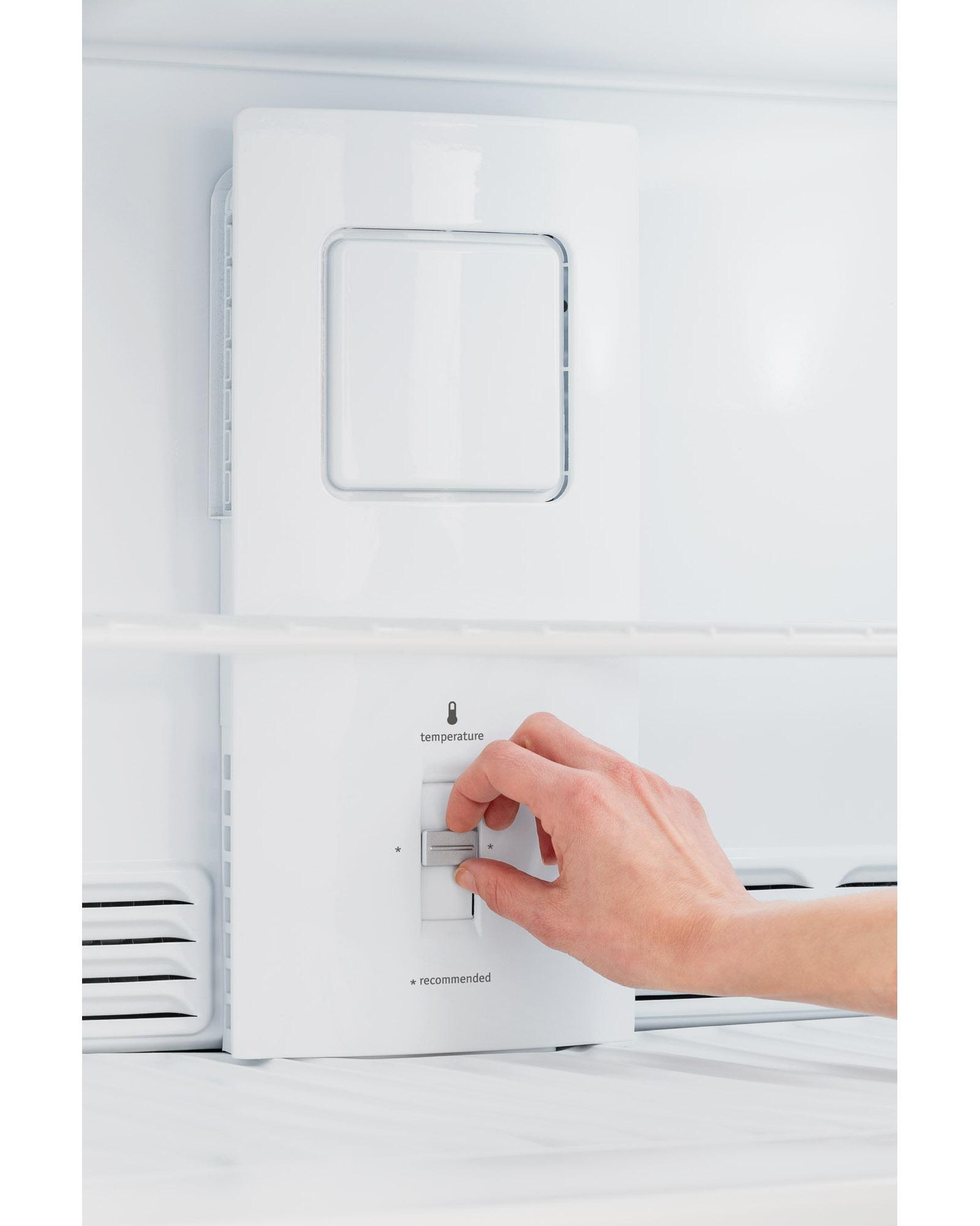 Frigidaire FFHT1821QB 18 cu. ft. Top Freezer Refrigerator - Black