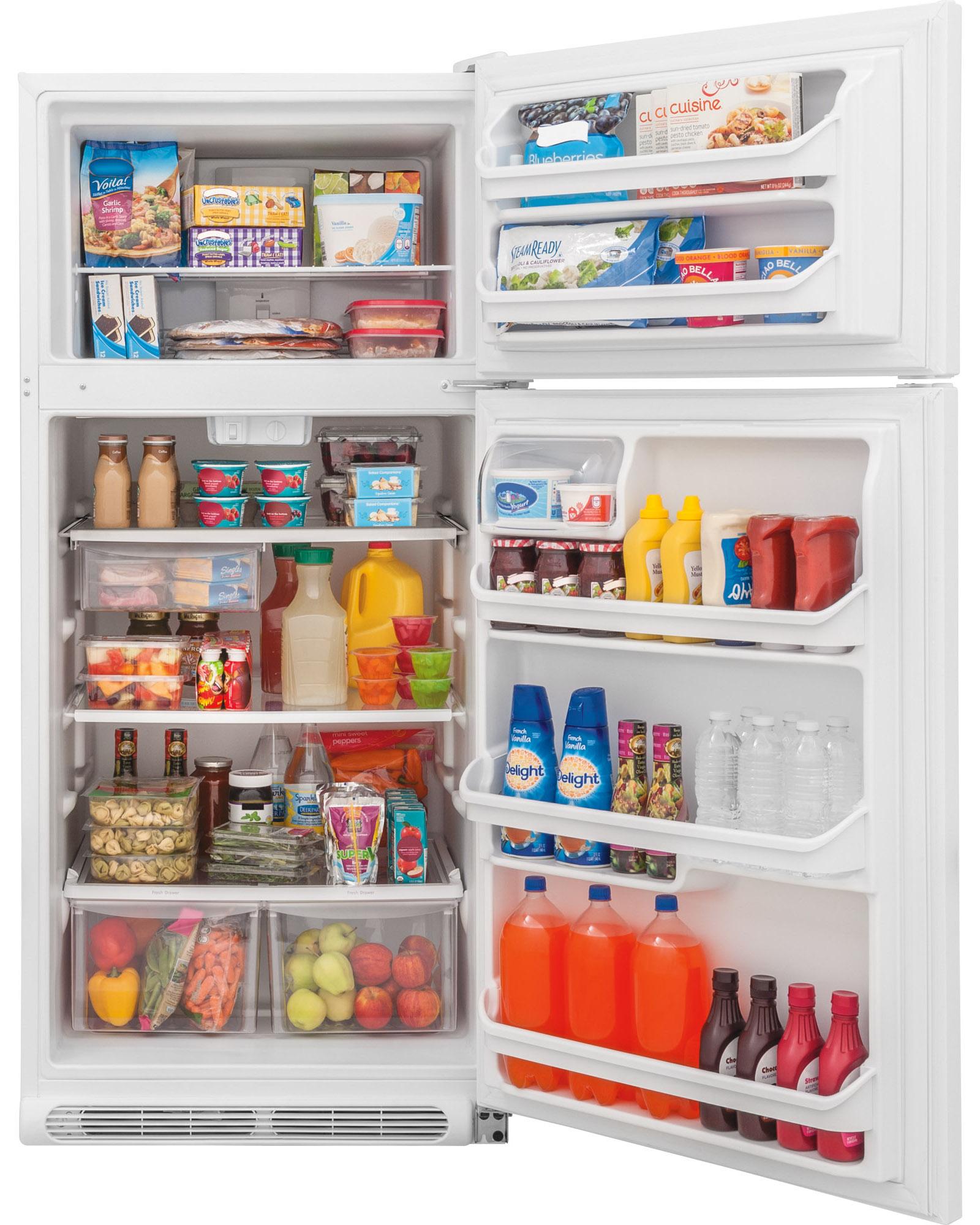 Frigidaire FFTR1821QW 18 cu. ft. Top Freezer Refrigerator - White