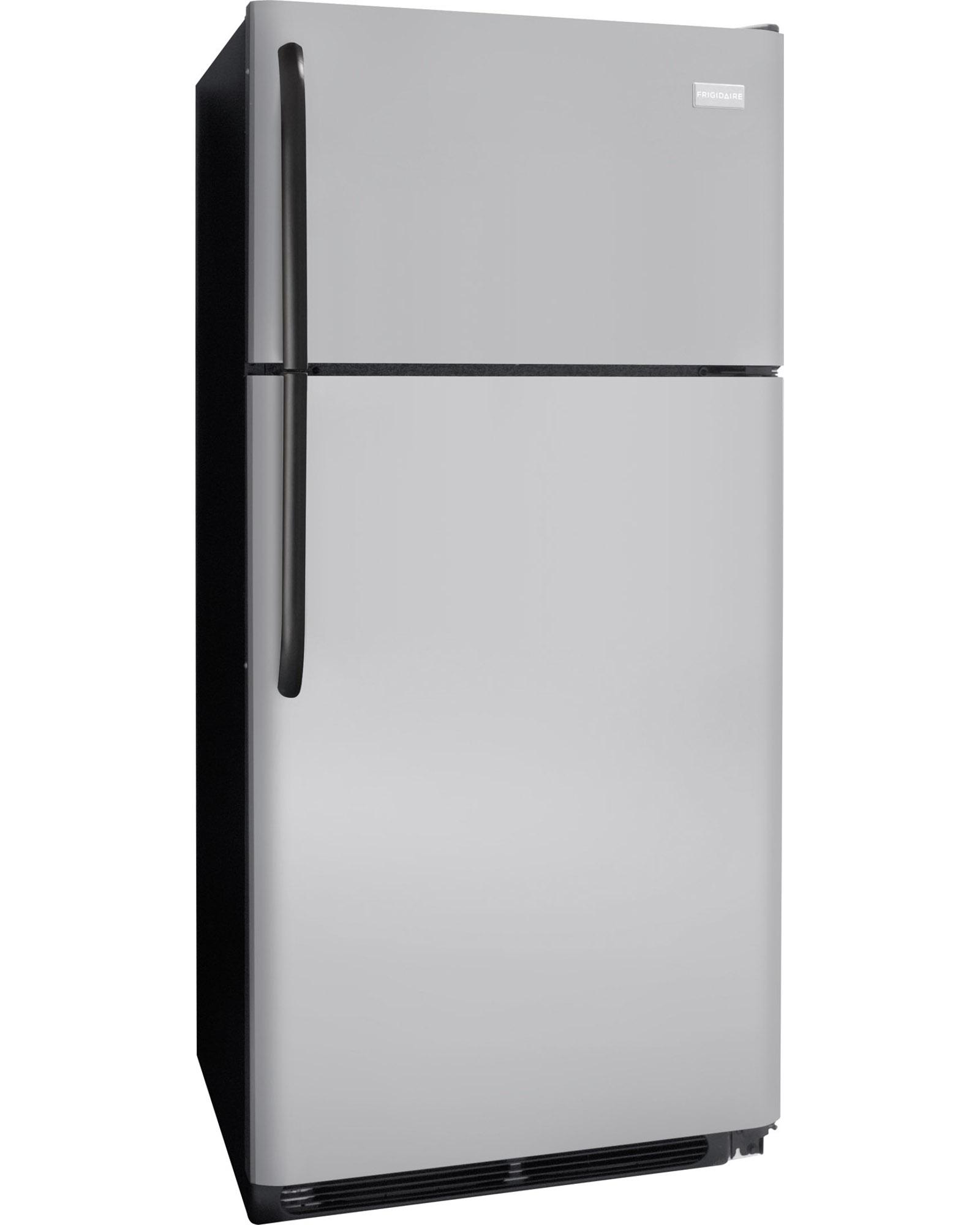 Frigidaire FFHT1831QM 18 cu. ft. Top Mount Refrigerator - Silver Mist