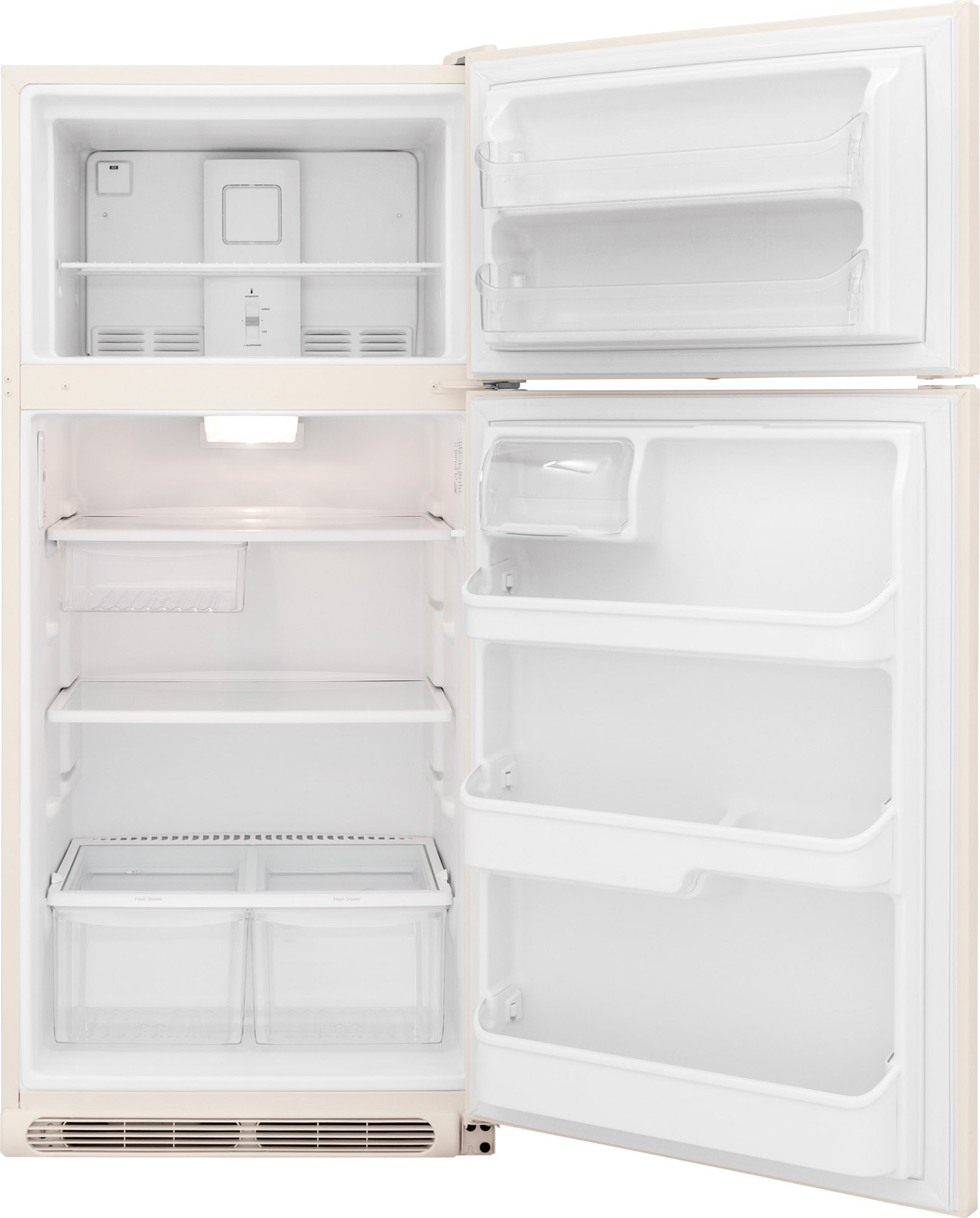 Frigidaire FFHT1831QQ 18 cu. ft. Top Mount Refrigerator - Bisque