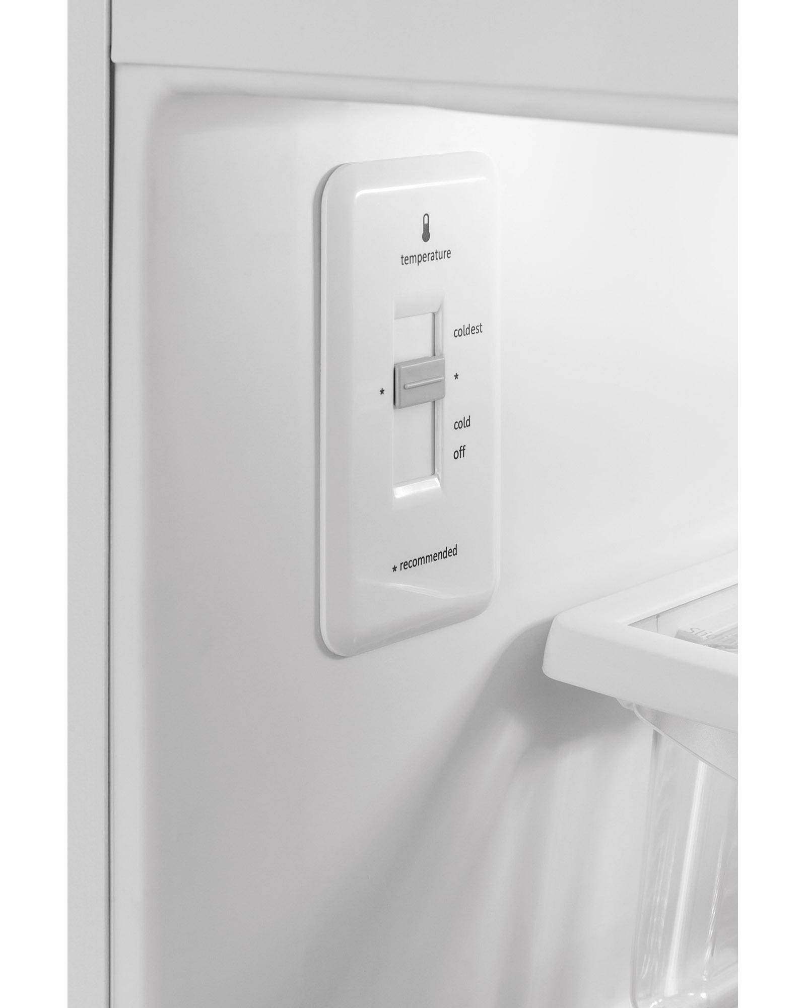 Frigidaire FFHI1831QE 18 cu. ft. Top Freezer Refrigerator - Black