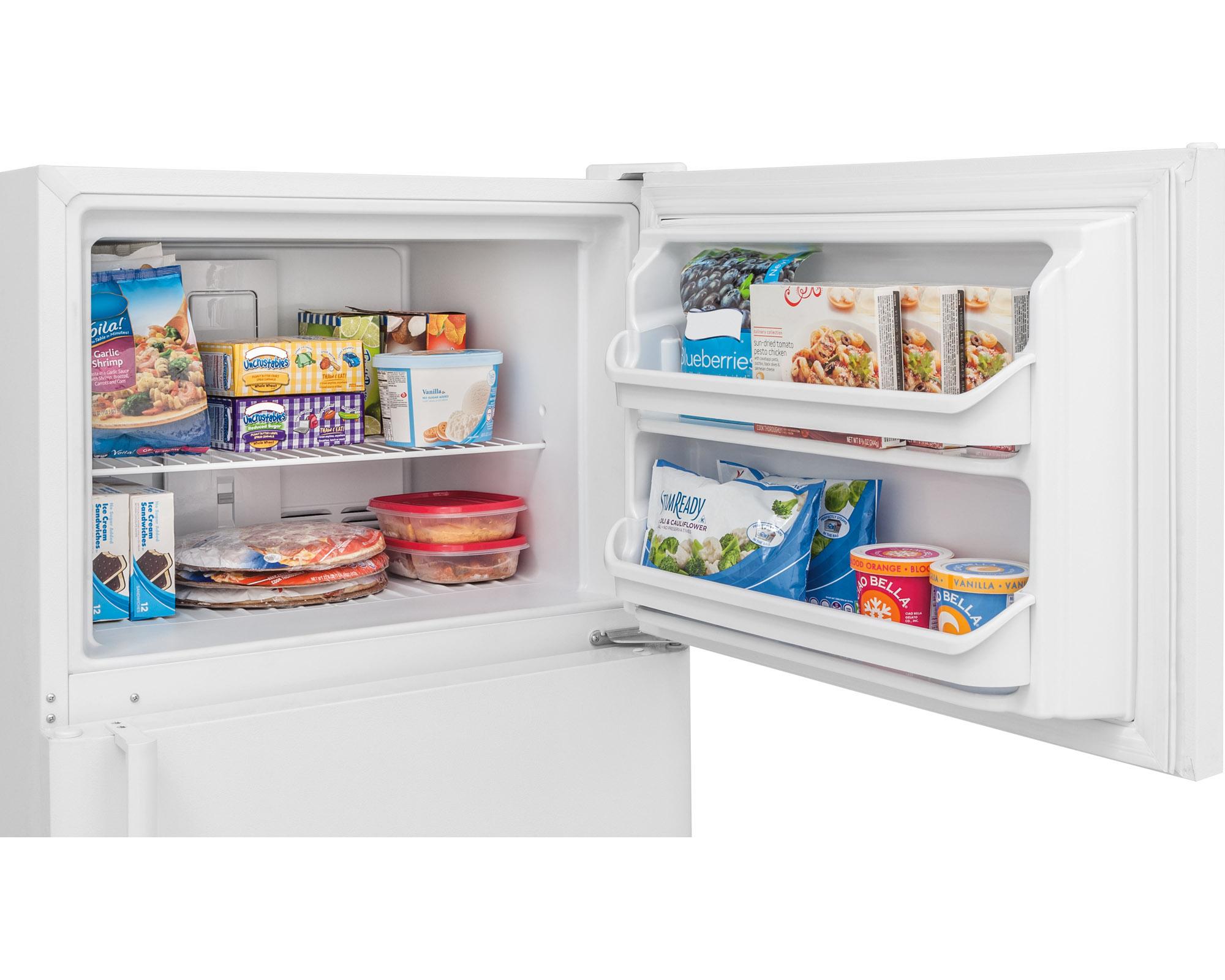 Frigidaire FFTR2021QW 20.4 cu. ft. Top Freezer Refrigerator - White